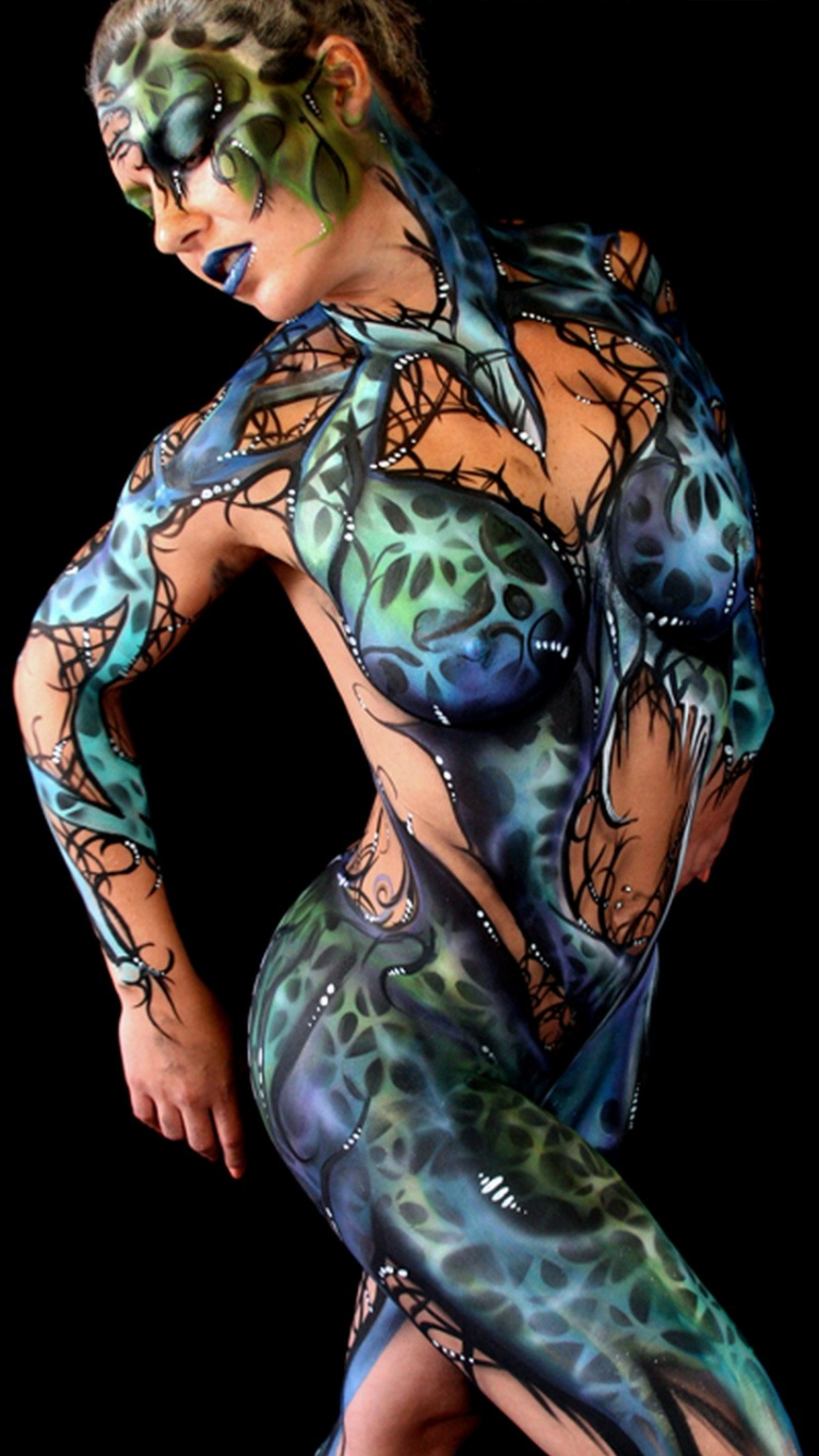 Free Download Paintings Body Painting Hd Wallpaper Art Fantasy 955348 800x1686 For Your Desktop Mobile Tablet Explore 47 Body Painting Wallpapers For Desktop Body Paint Wallpaper Painting Body Hd