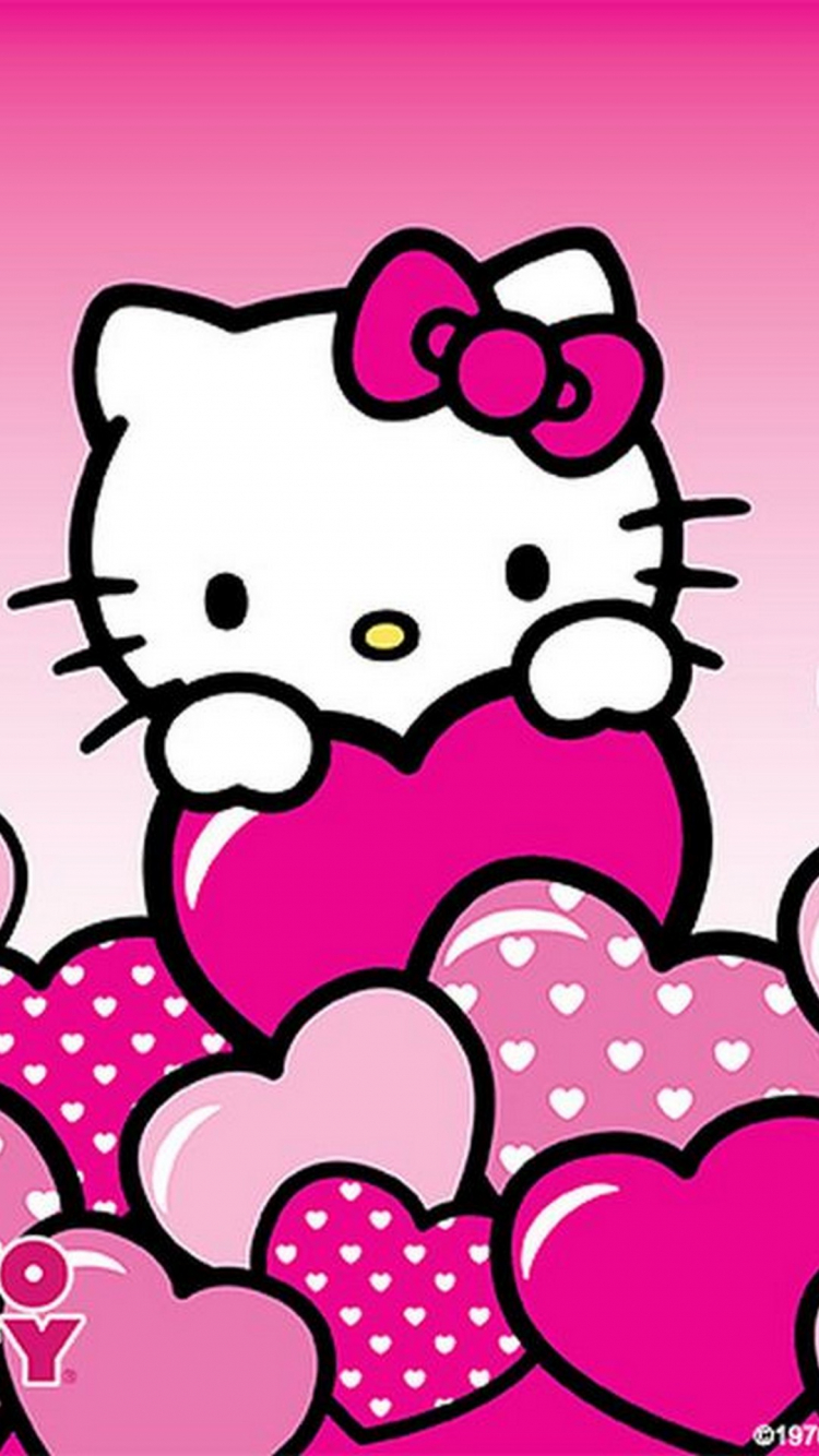 Free Download Wallpaper Iphone Hello Kitty 2019 3d Iphone