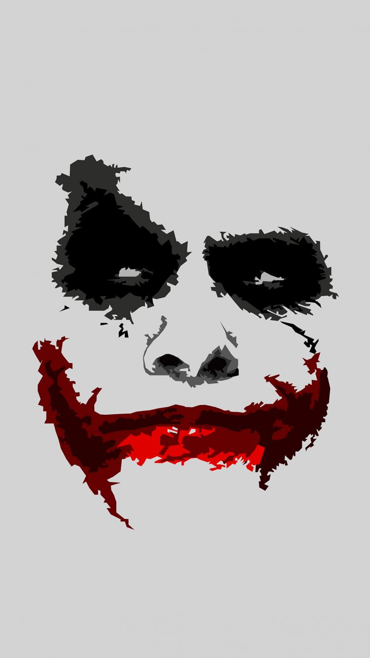 Free Download Wallpaper Hd Iphone X 8 7 6 Joker Face Download
