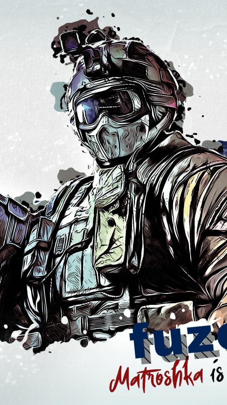 Rainbow Six Siege Wallpaper Fuze