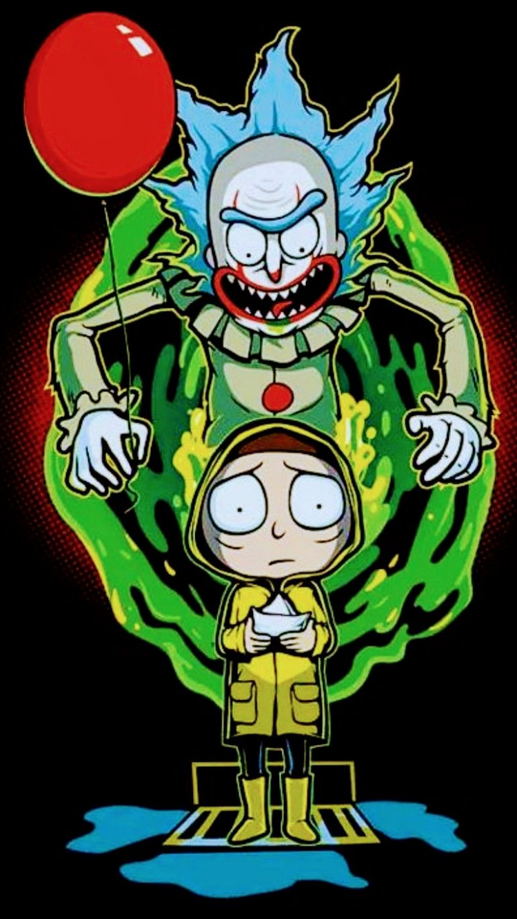 Free download Rick and Morty x Pennywise RICK AND MORTY ...