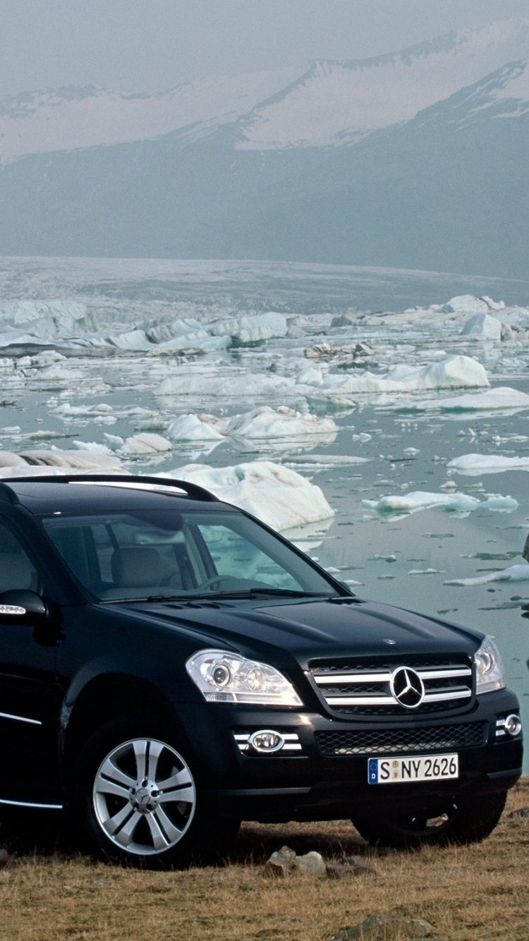Free Download Wallpaper Mercedes Gl Mercedes Sea Ice Winter