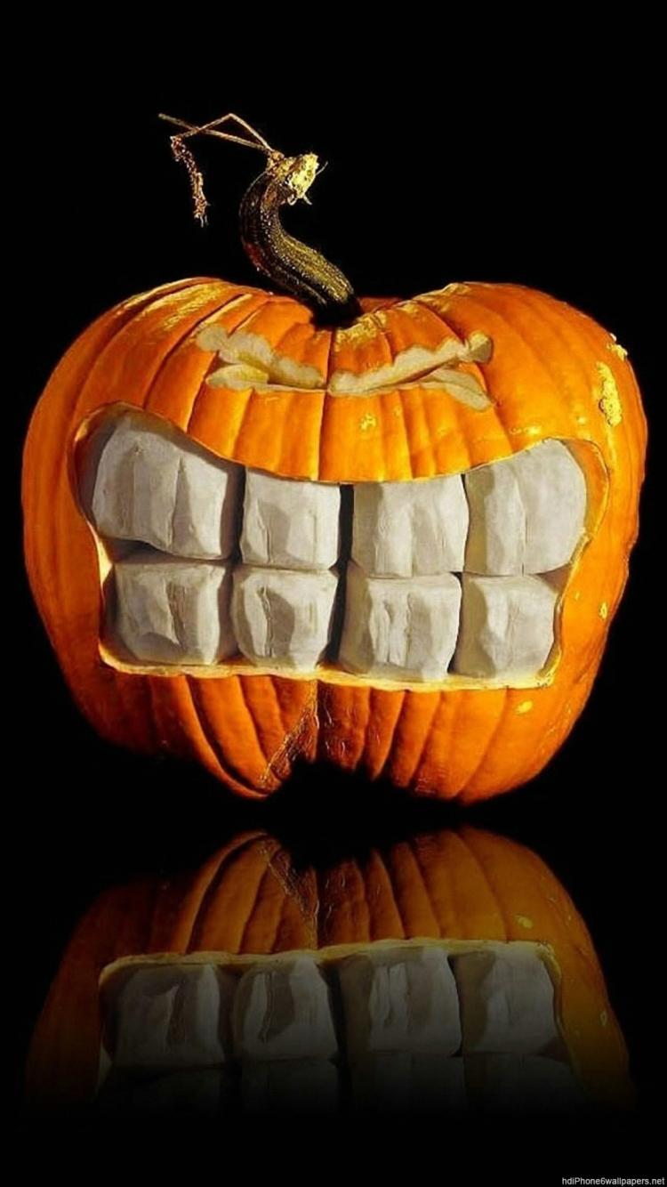 Free Download Halloween Wallpaper Iphone 6 Pumpkin Quotes Funny