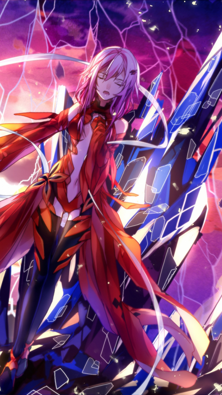 Free Download Download Wallpaper 1080x1920 Guilty Crown Anime