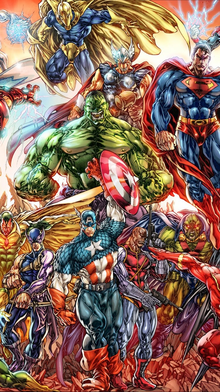 Free download Marvel Wallpapers IPhone
