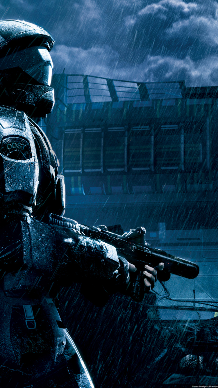Free Download Halo 3 Odst Wallpapers Hd 2560x1600 For Your