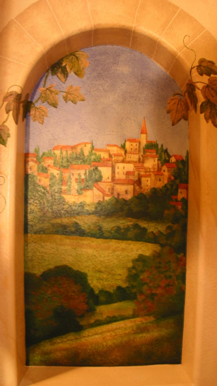 Free Download Trompe Loeil Mural Murals Club Los Alamitos