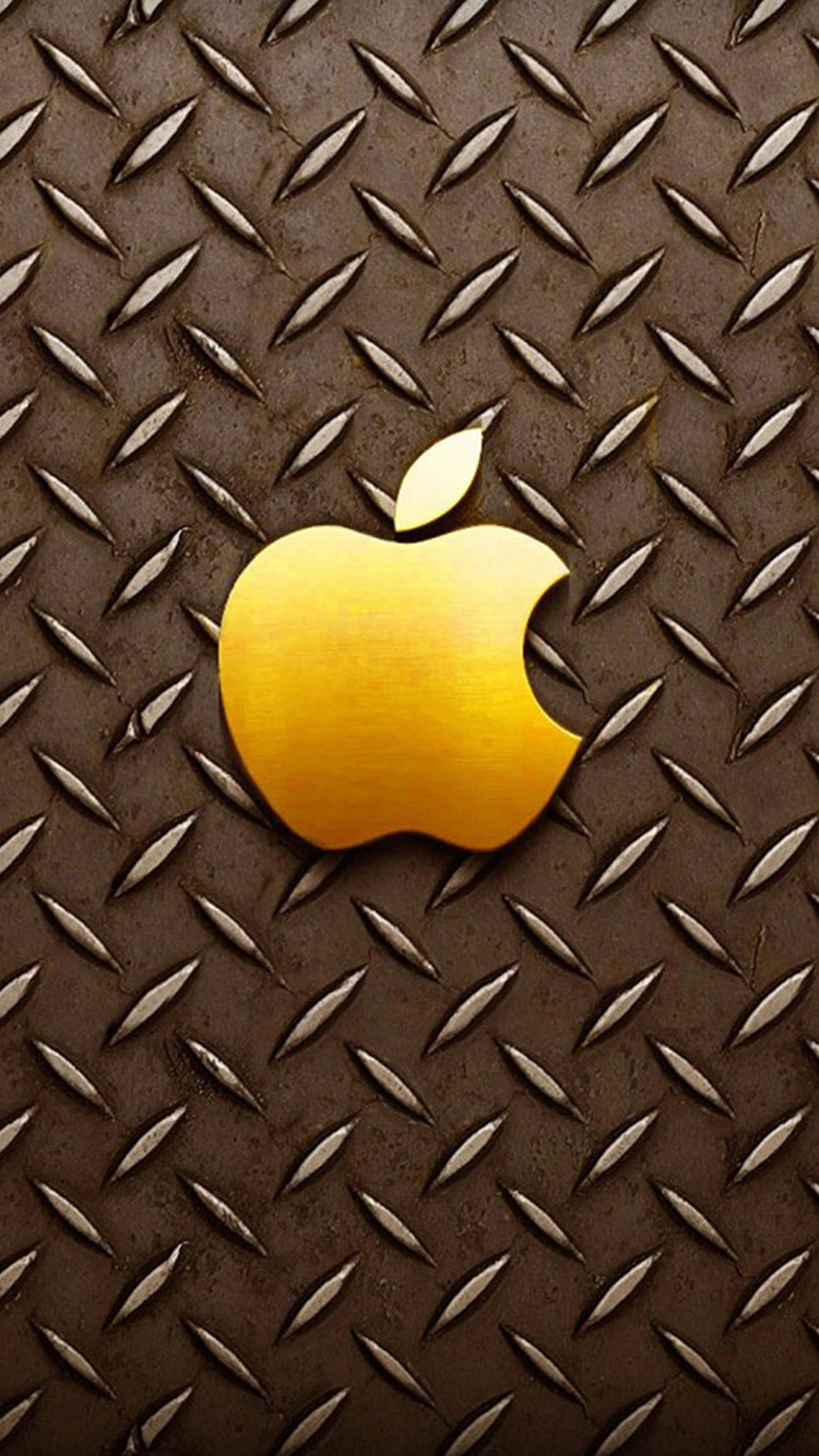 Free Download Gold Apple Logo Iphone 6 Wallpapers Hd Wallpapers