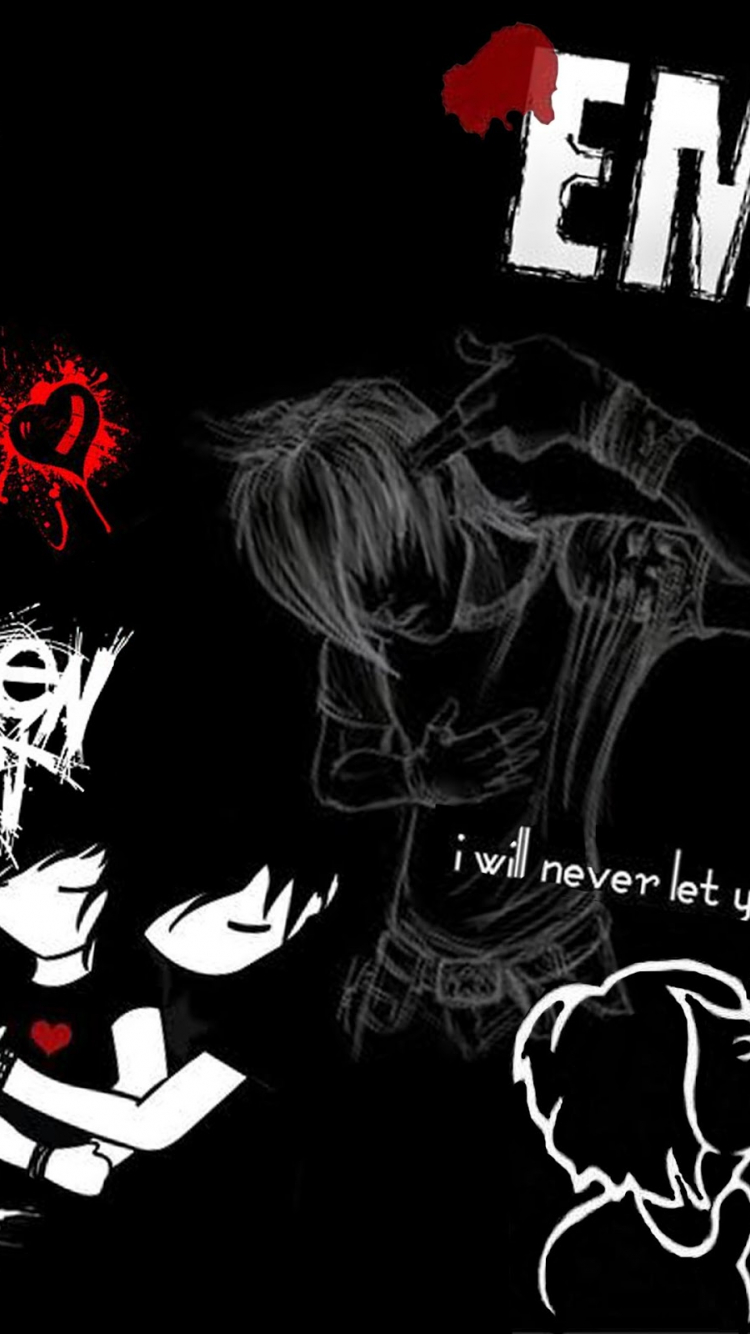 emo quotes x for your desktop