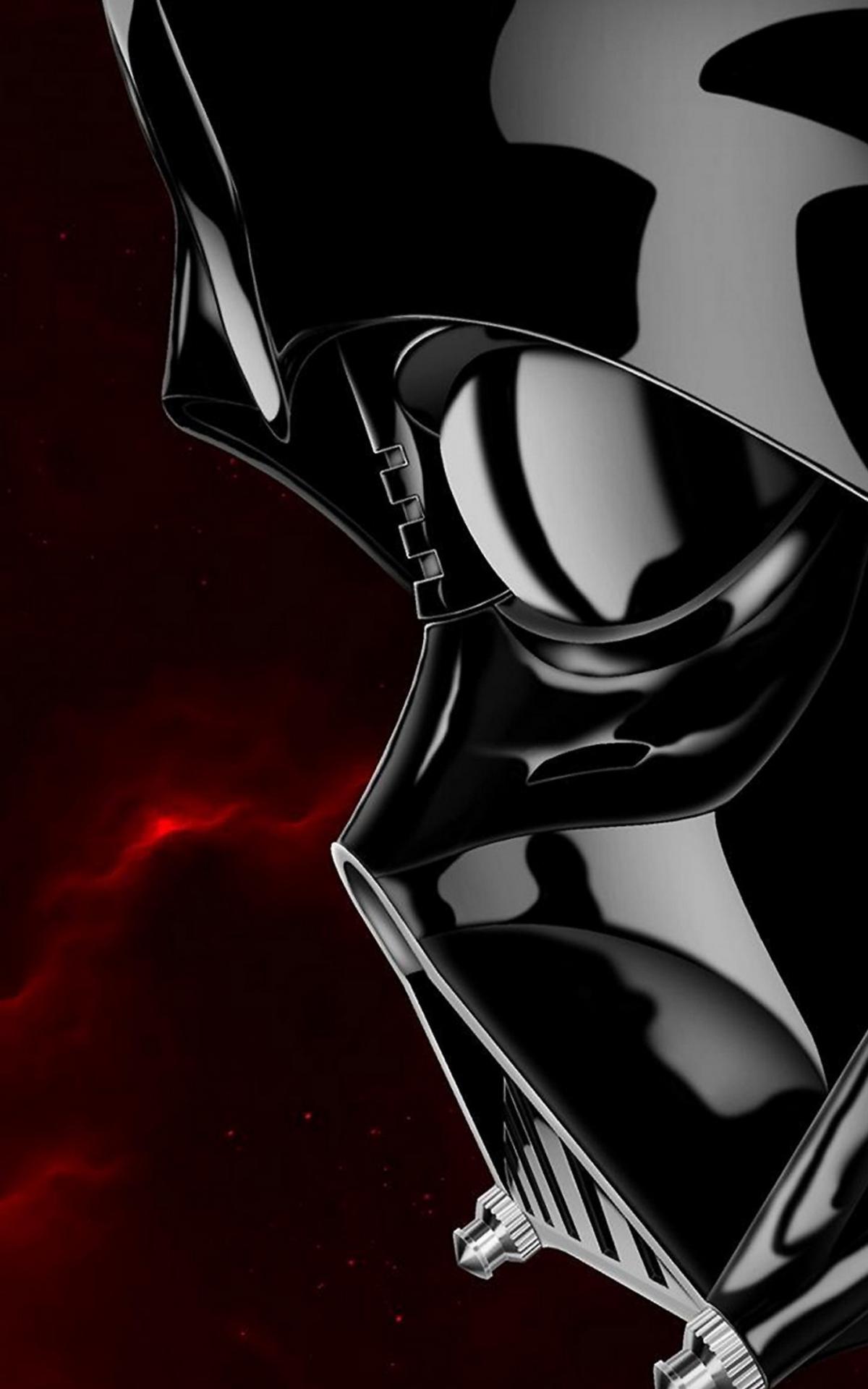 Free Download Darth Vader Star Wars Illustration Lock Screen