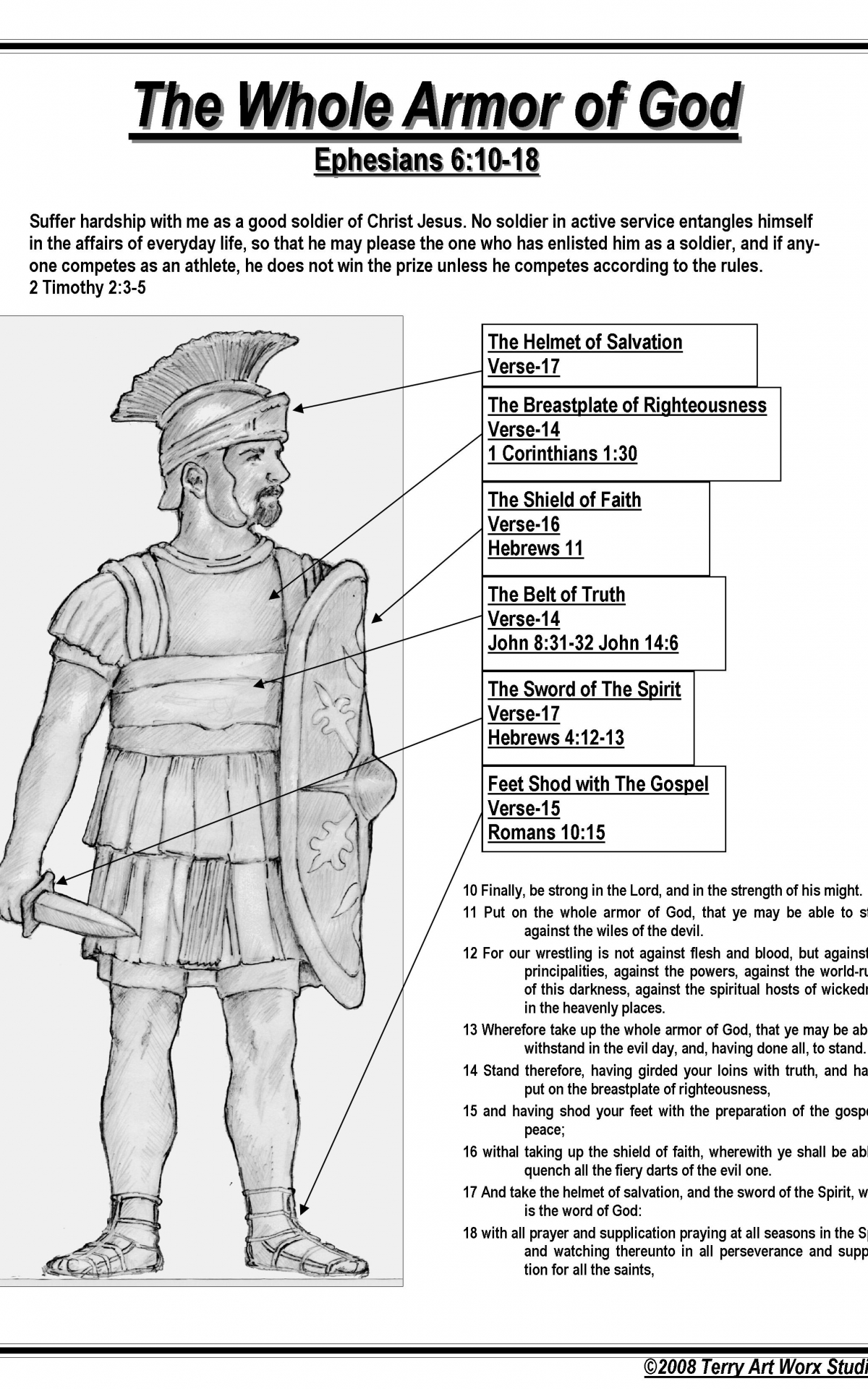 Free Coloring Pages For Armor Of God - Coloring Home   1920x1200