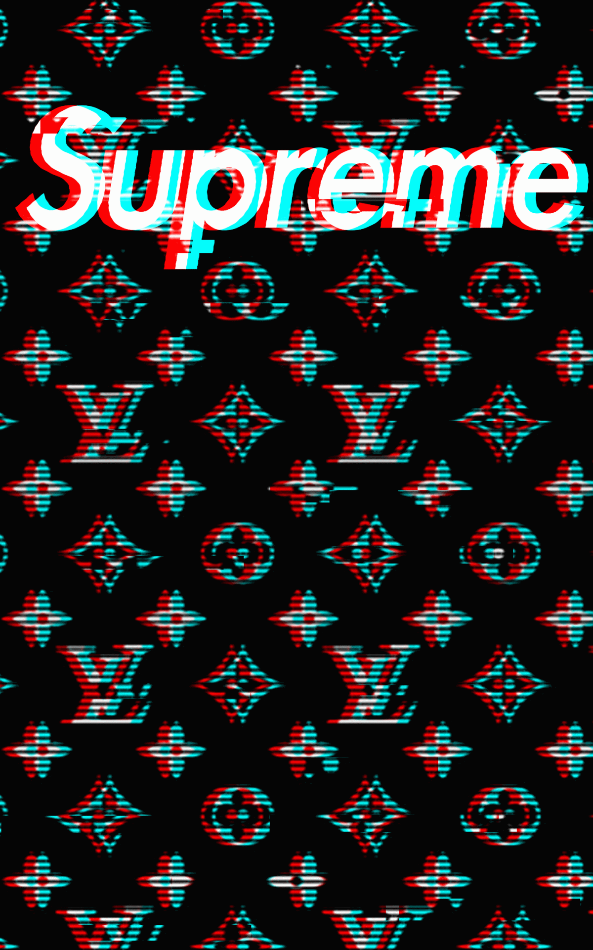 Louis Vuitton Supreme Wallpapers