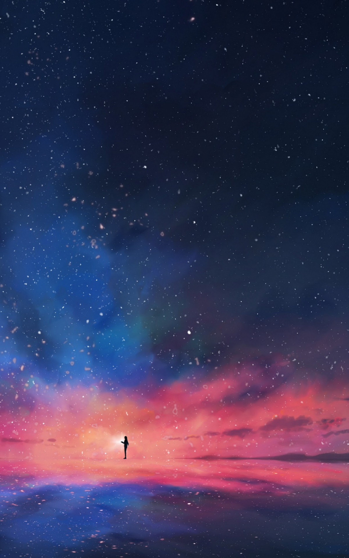 Free Download Anime Night Sky Stars Horizon Scenery 4k Wallpaper 92 1242x2688 For Your Desktop Mobile Tablet Explore 55 Anime Iphone 11 4k Wallpapers Anime Iphone 11 4k Wallpapers