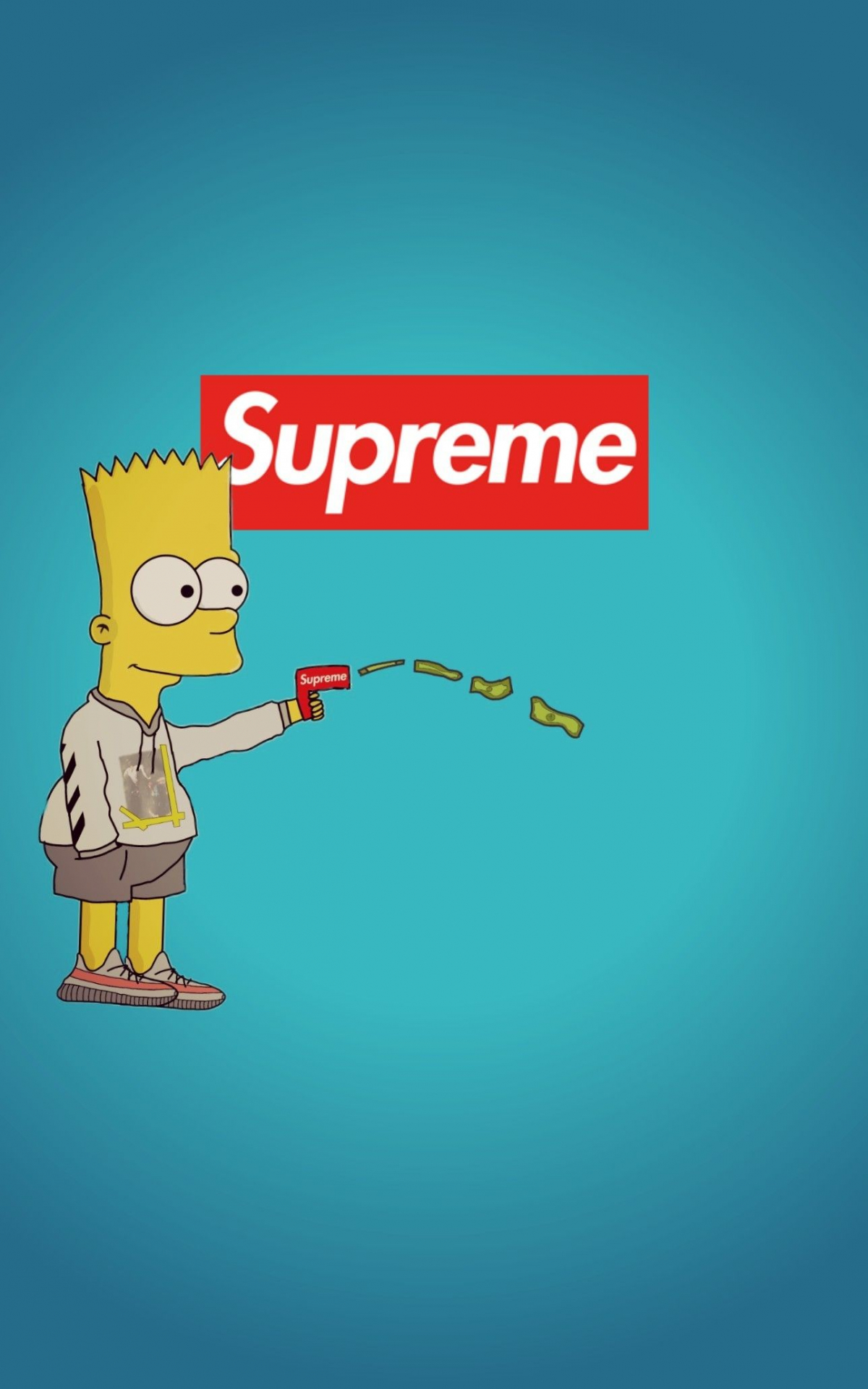 Free Download High Bart Simpson Supreme Wallpapers Top High Bart