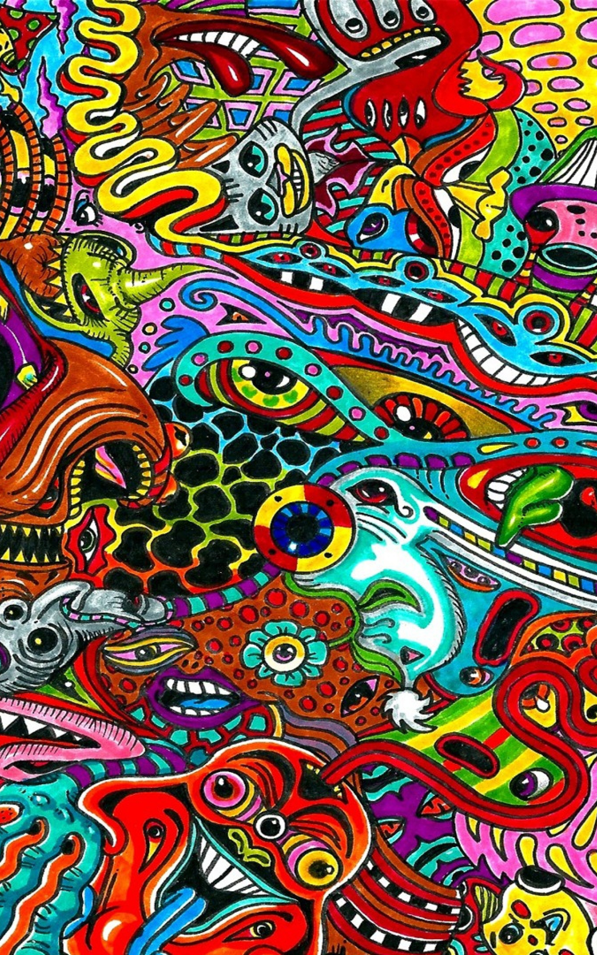 Free Download Surreal Colorful Psychedelic Wallpaper