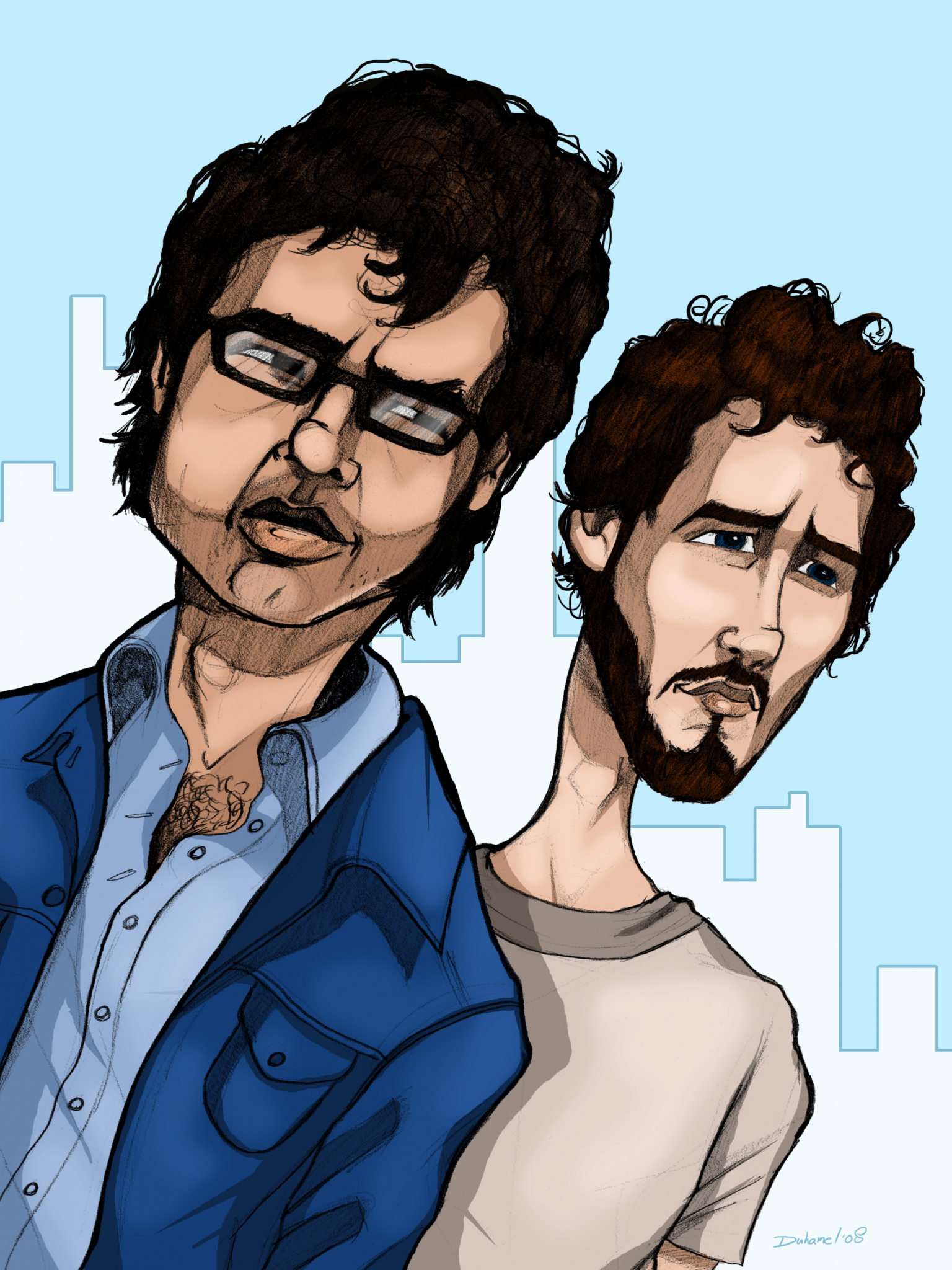 Free Download Flight Of The Conchords Qma0 2400x3000 For Your