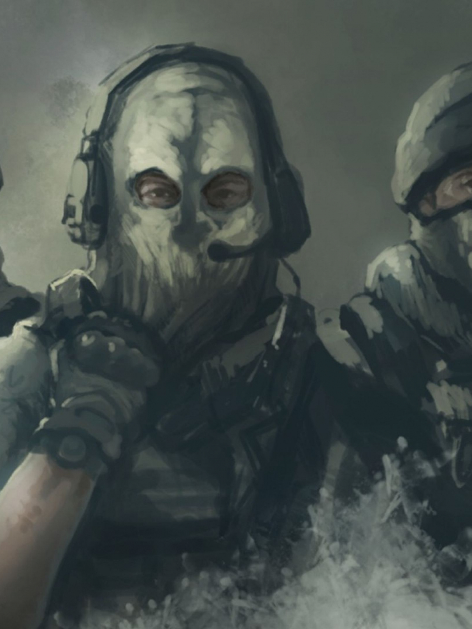 Free Download Download Wallpaper 3840x2160 Call Of Duty Ghosts Art