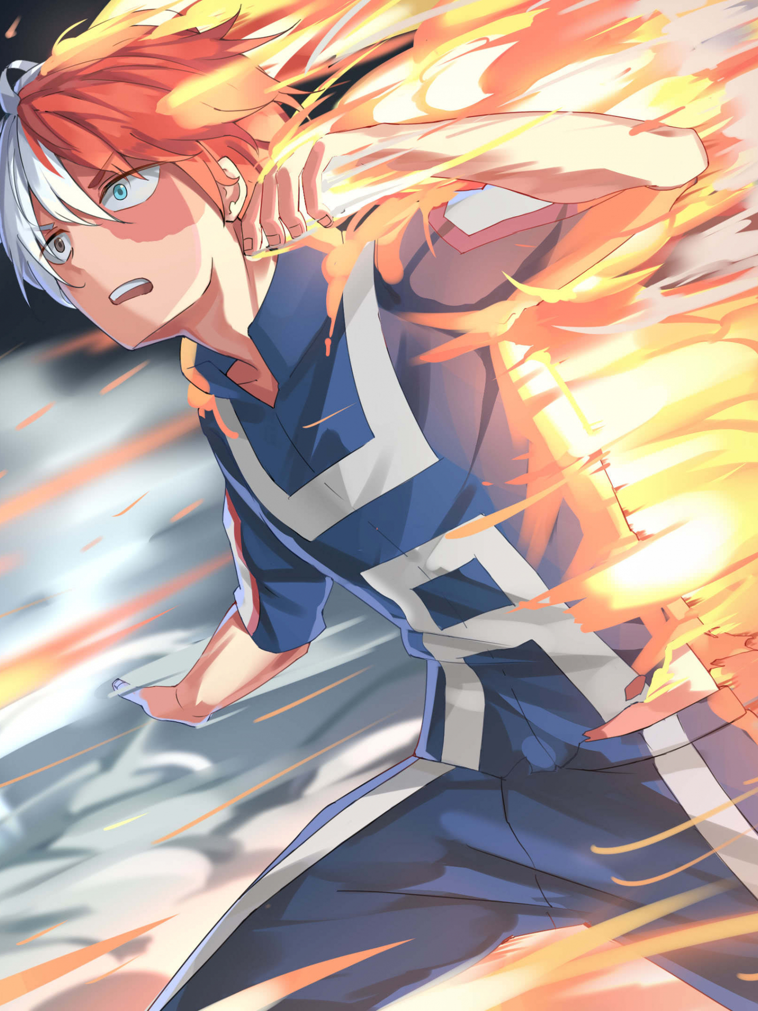 Free Download My Hero Academia Shoto Todoroki Uhd 4k Wallpaper