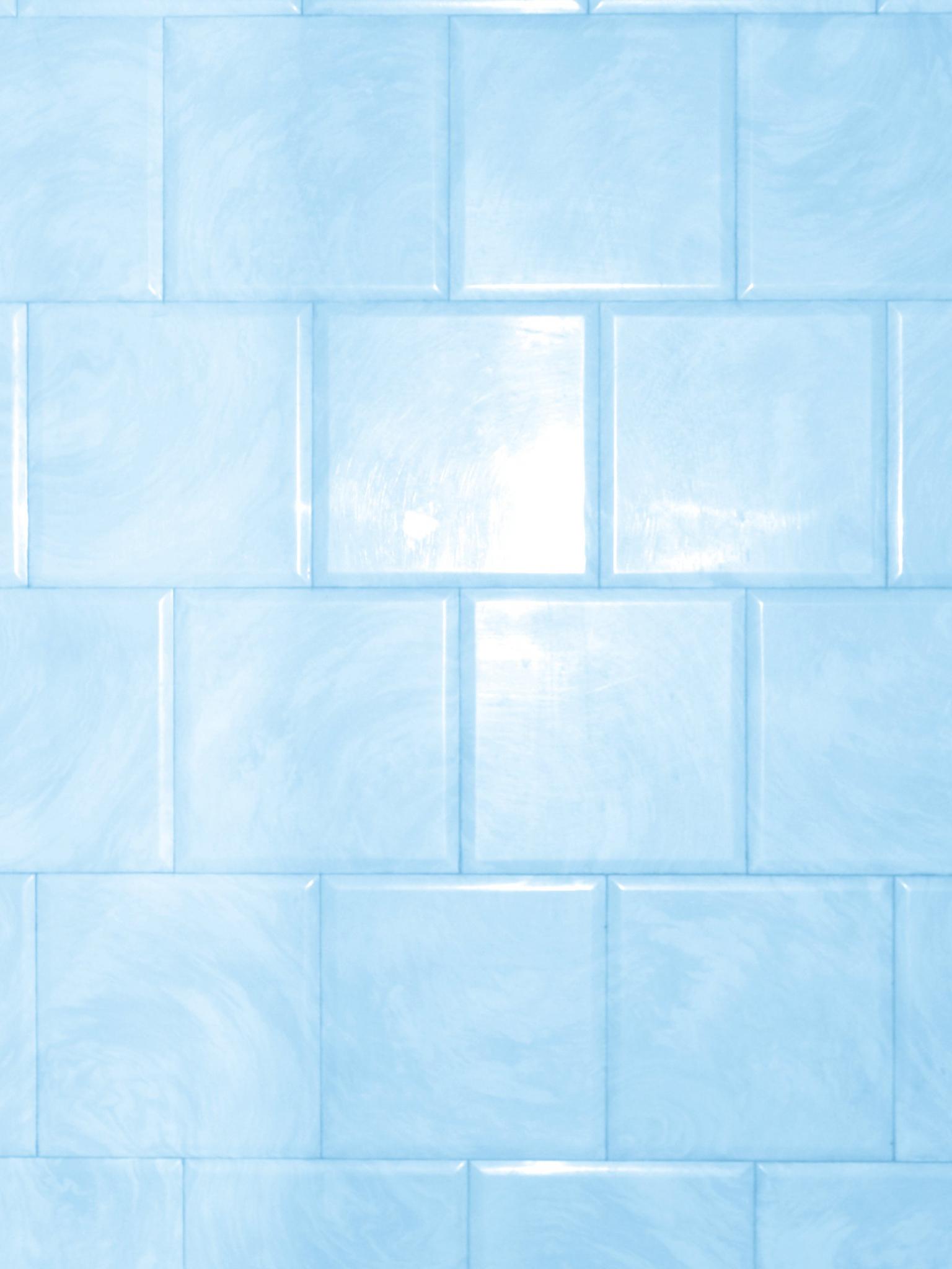 Free Baby Blue Bathroom Tile