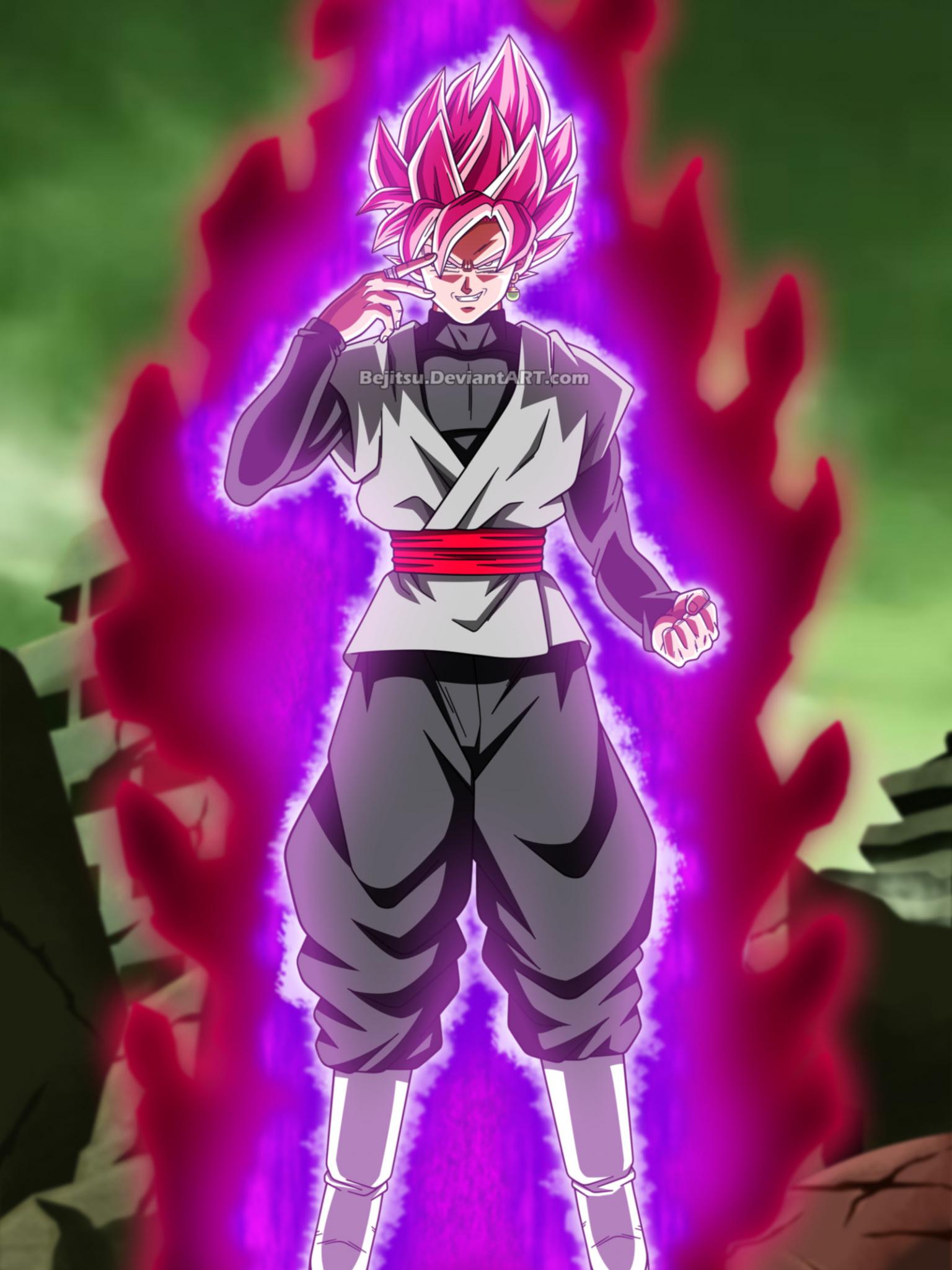 Free Download Dragon Ball Super Black Goku By Bejitsu 1600x2344