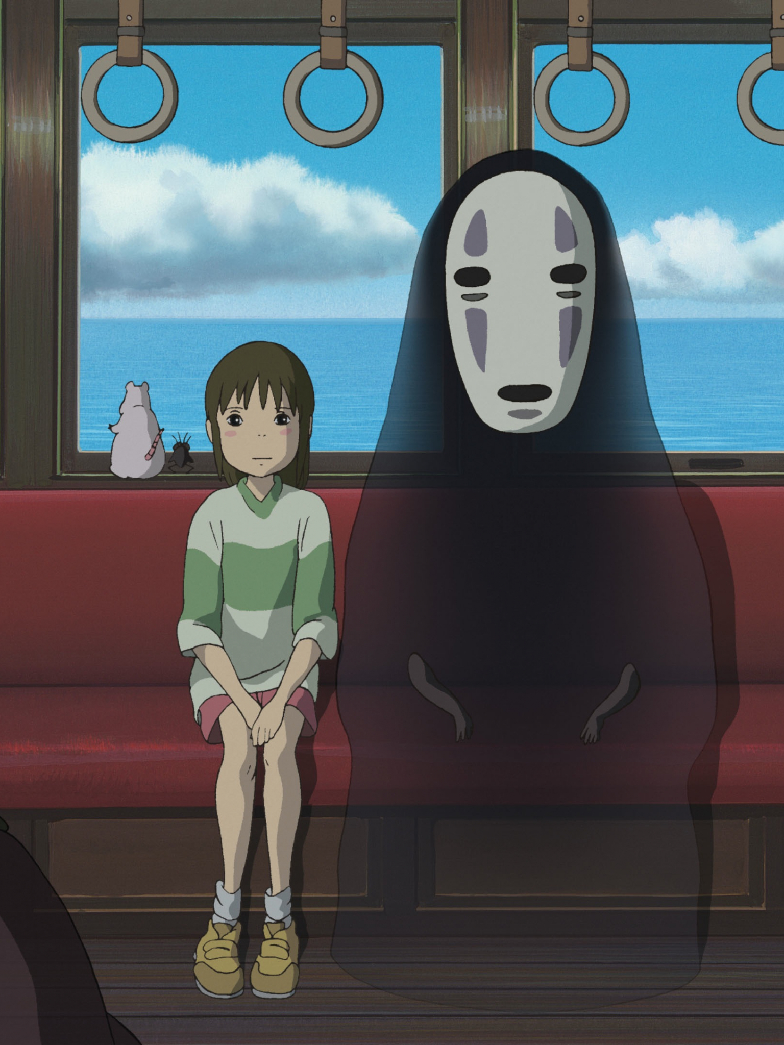 Free Download No Face Spirited Away Wallpaper Images Pictures