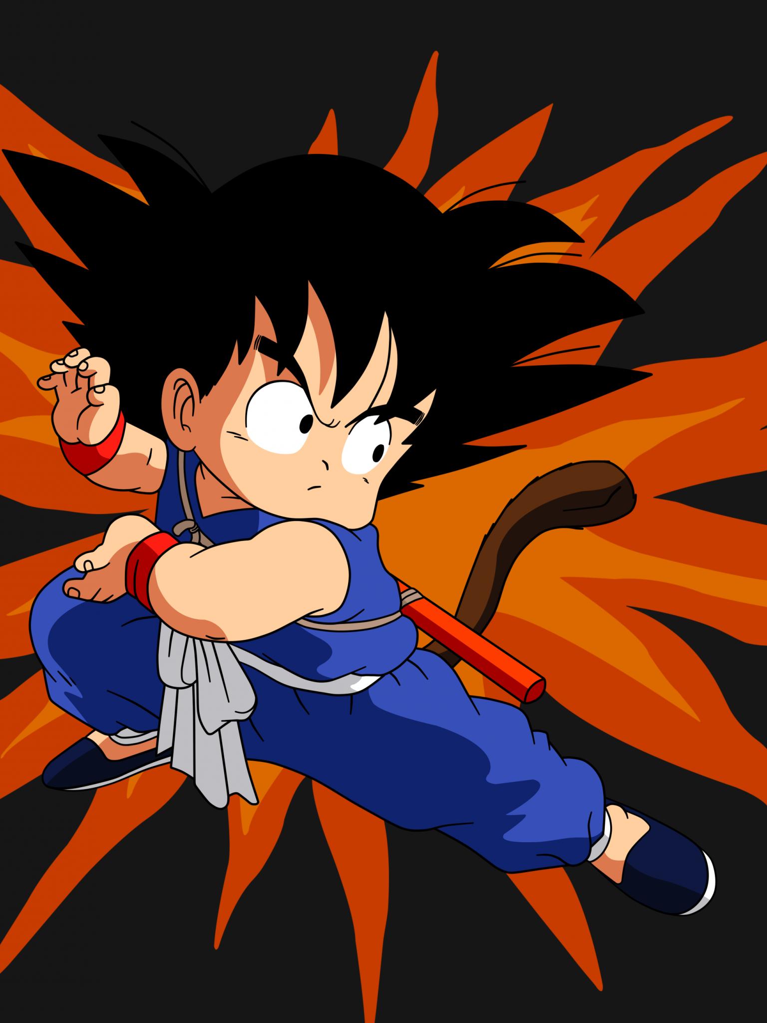 Free Download Dragon Ball Kid Goku 24 By Superjmanplay2 3500x2625