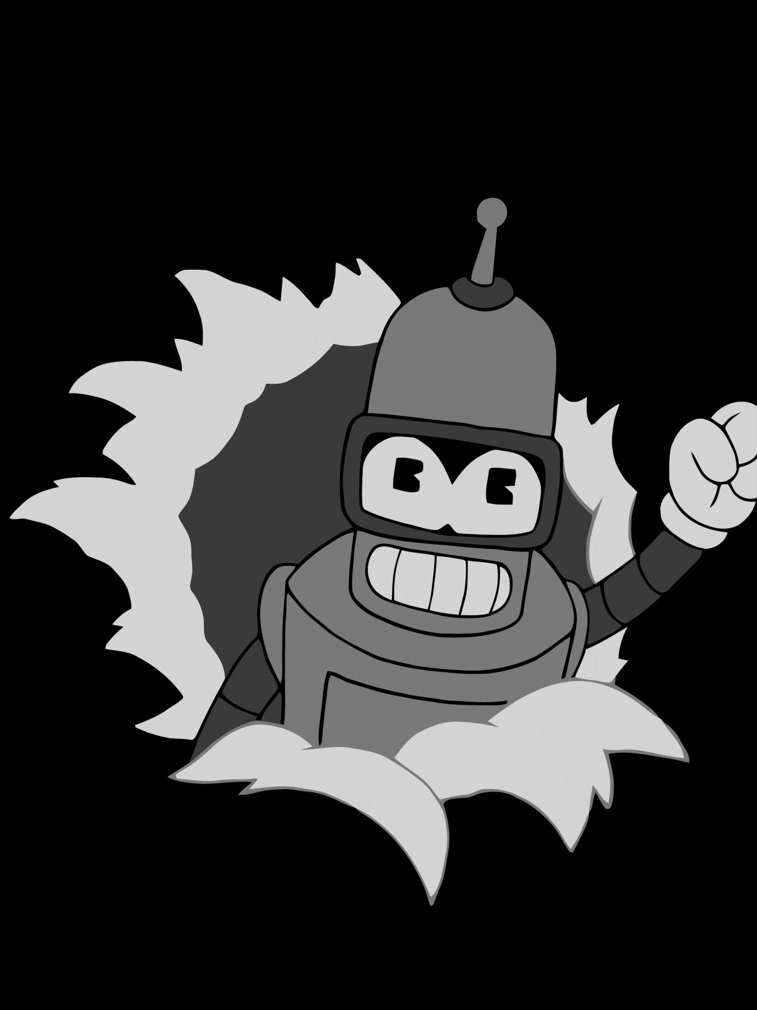 Bender Futurama Wallpaper [5120x2880