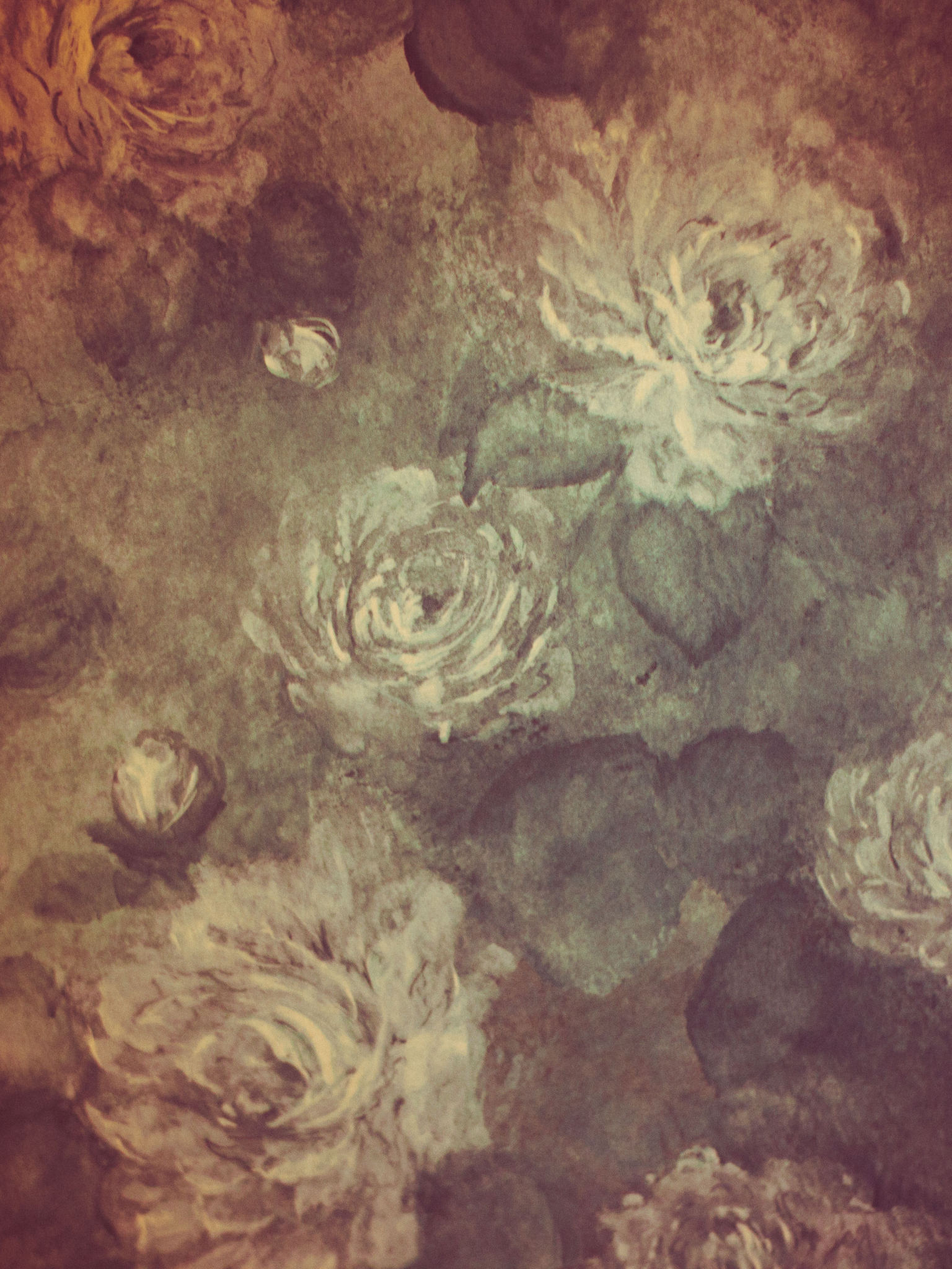 Free Download Vintage Floral Wallpaper Background Indiedesignercom