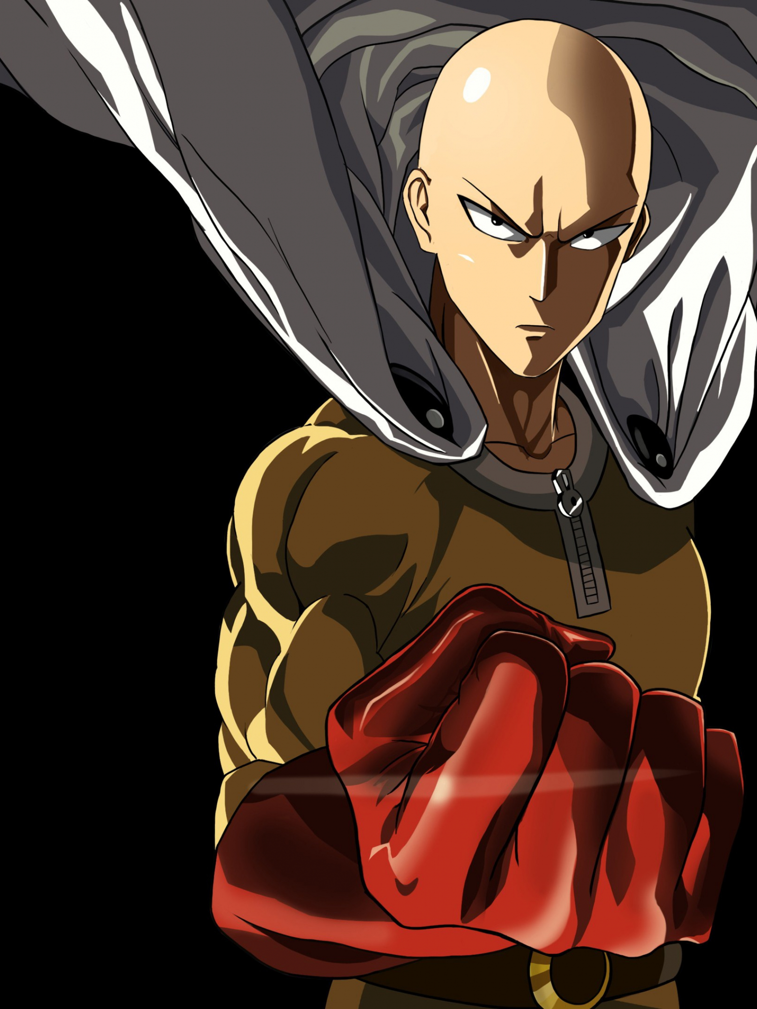 Free Download Saitama One Punch Man Anime Hd Wallpaper Ihd