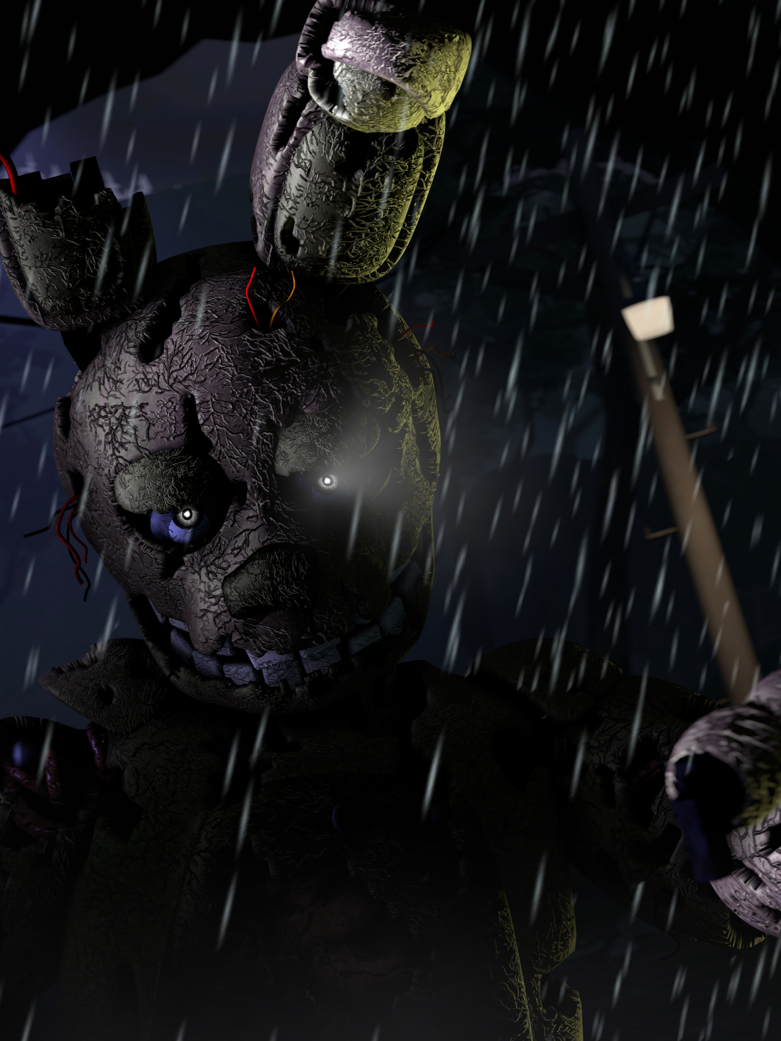 Free Download Five Nights At Freddys 3 4k Ultra Hd Wallpaper