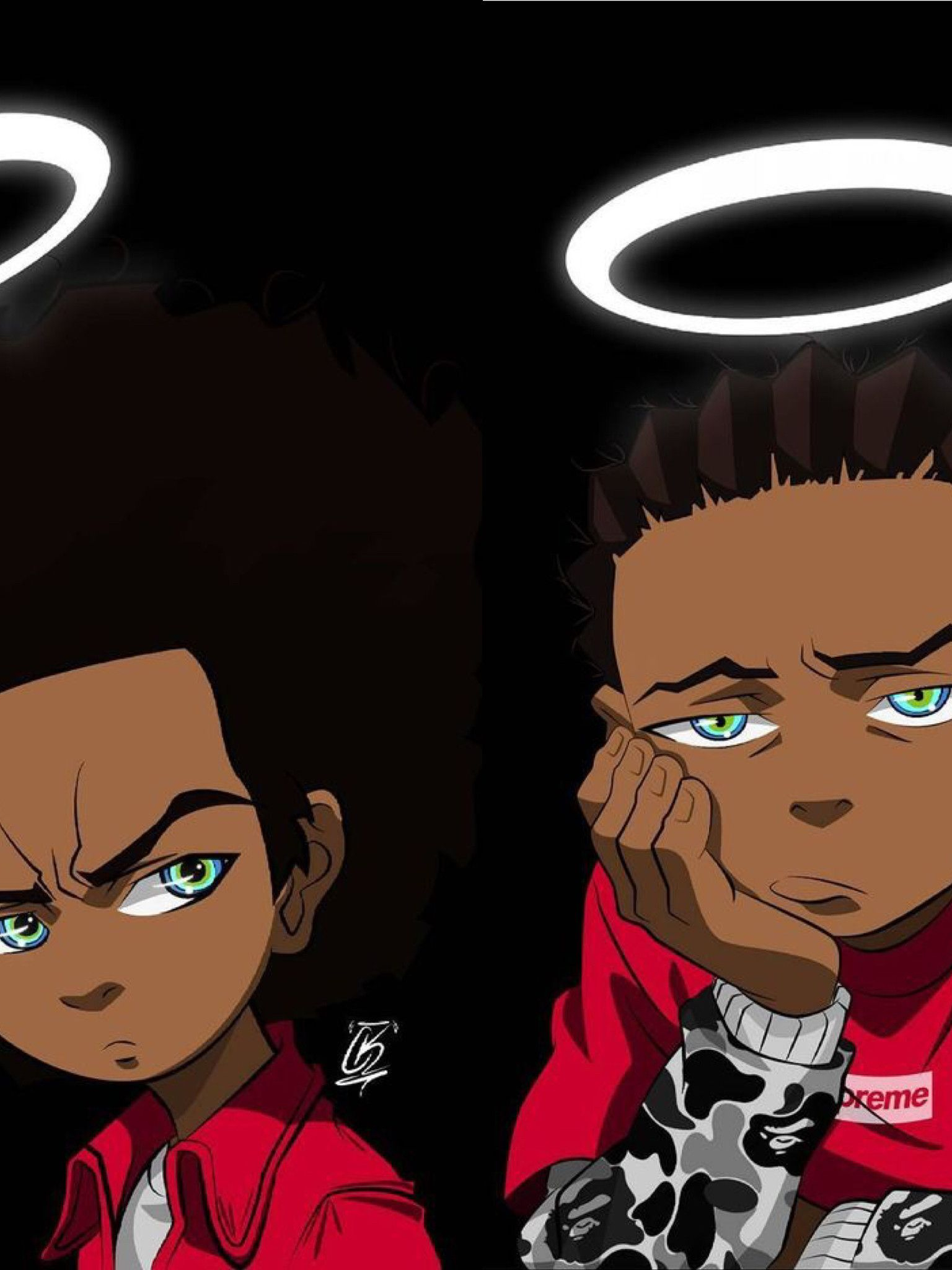 Free Download Boondocks Hypebeast Google Search Supreme Wallpaper