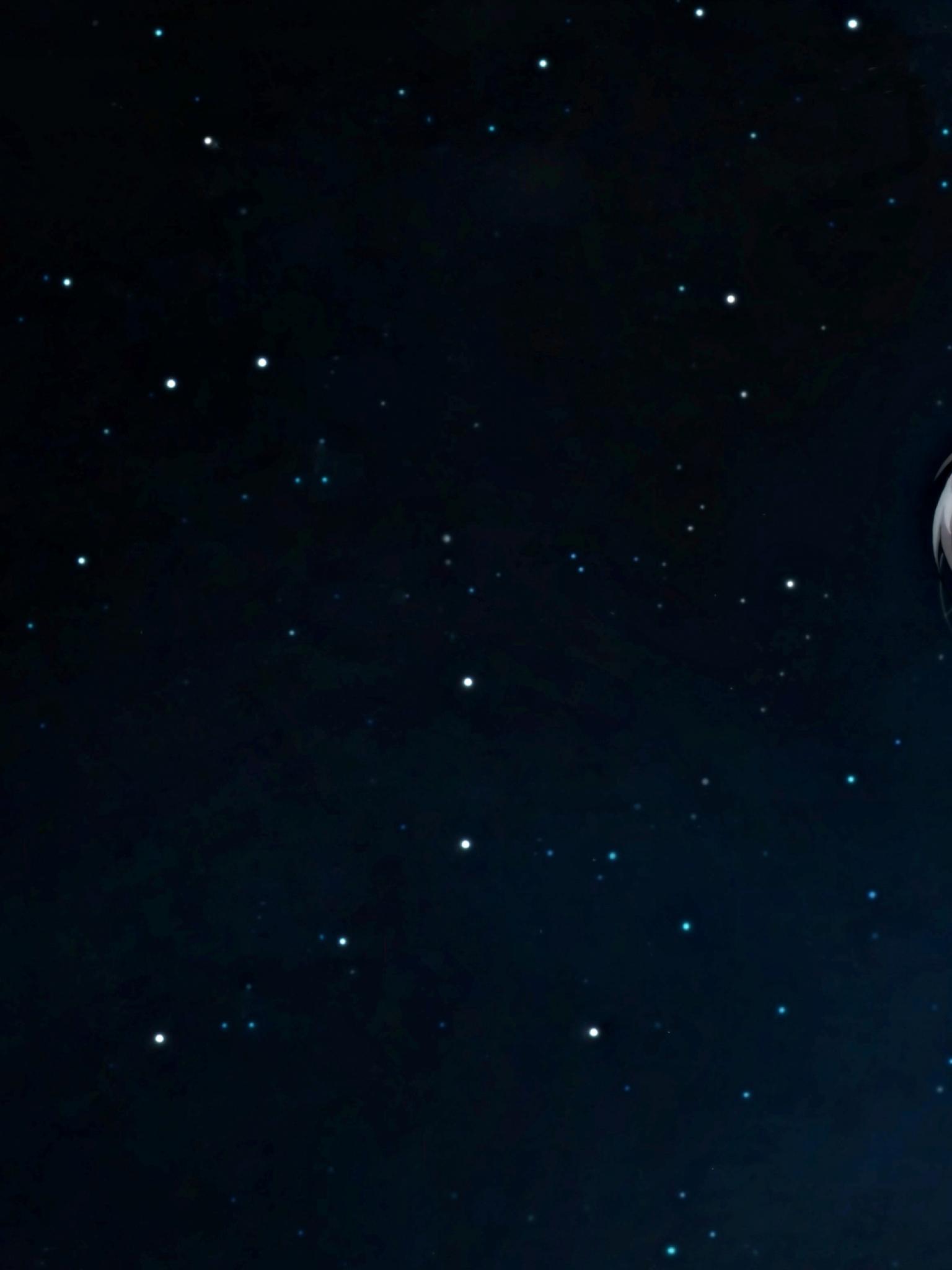 Anime Night Sky Background 4k Gambarku