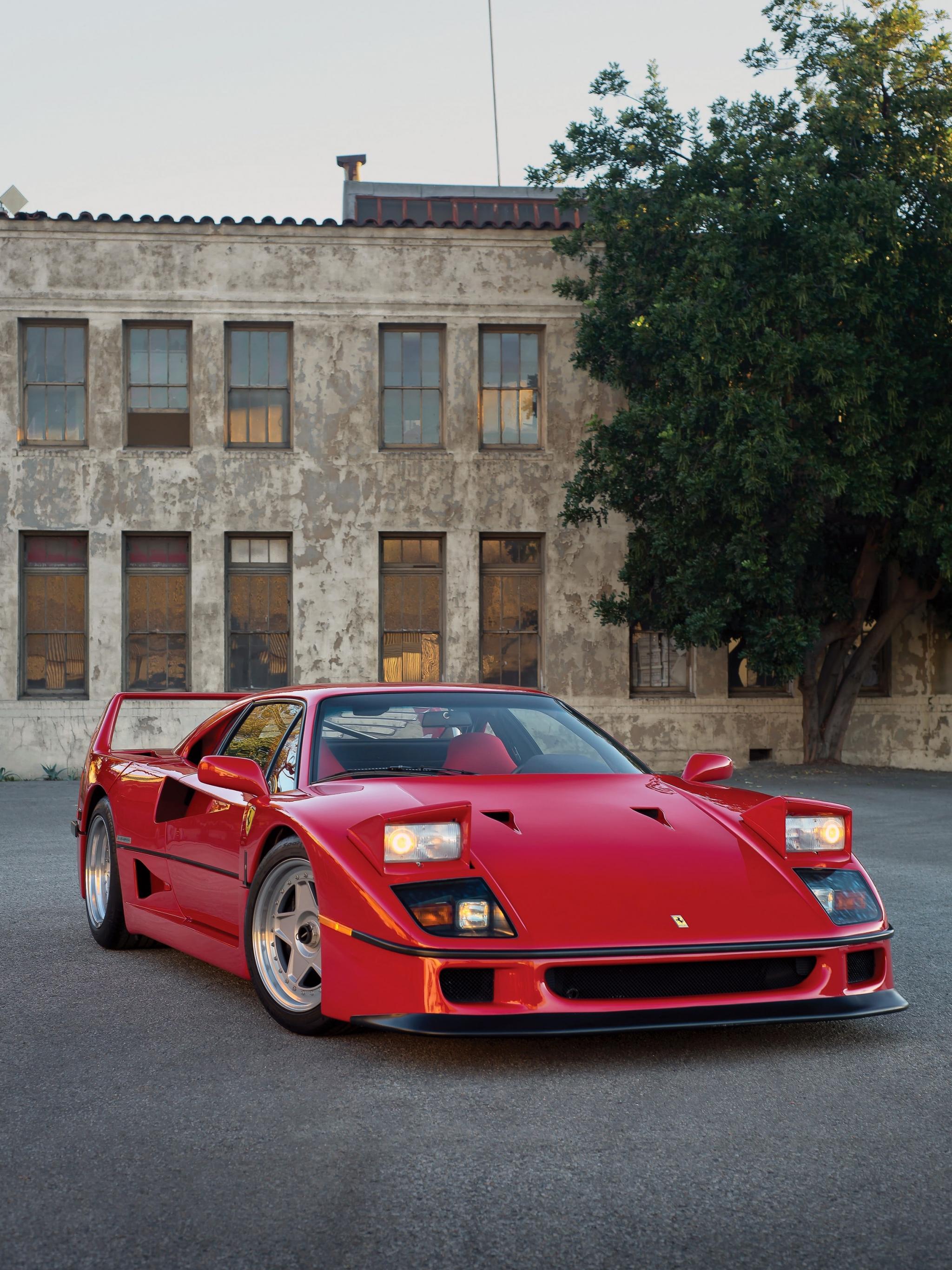 Free Download Ferrari F40 Hd Wallpapers 7wallpapersnet