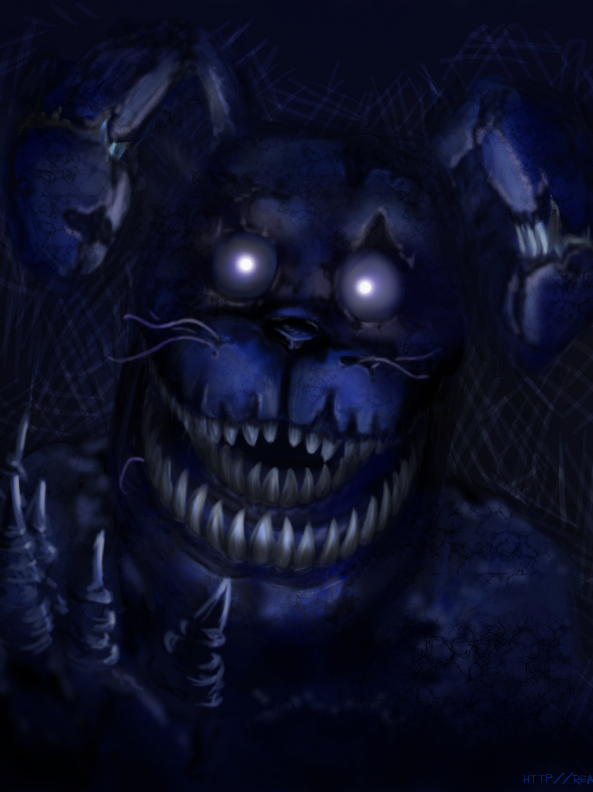 Free Download Bonnie Five Nights At Freddys 4 By Reason Games