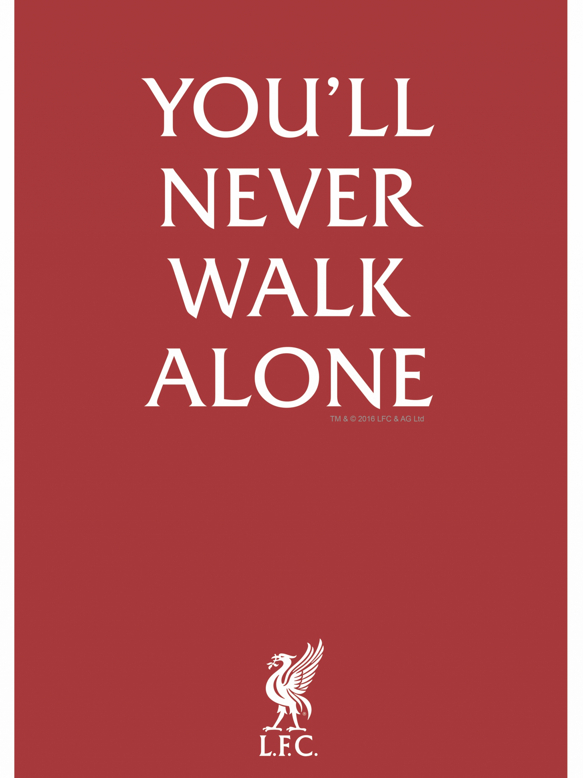 Free Download Lfc Youll Never Walk Alone Rather Says It All