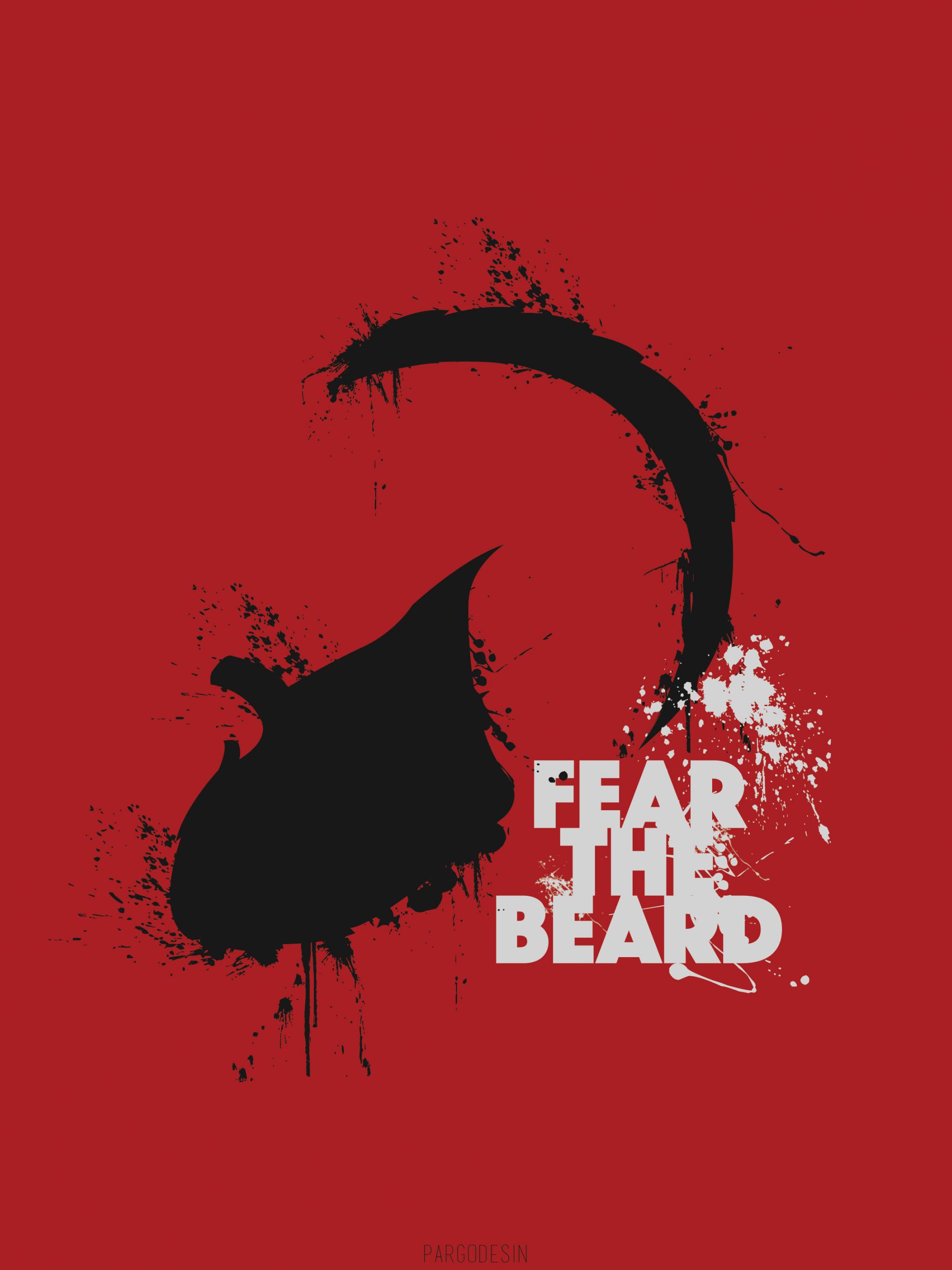 Free Download James Harden Fear The Beard Wallpaper Beard James