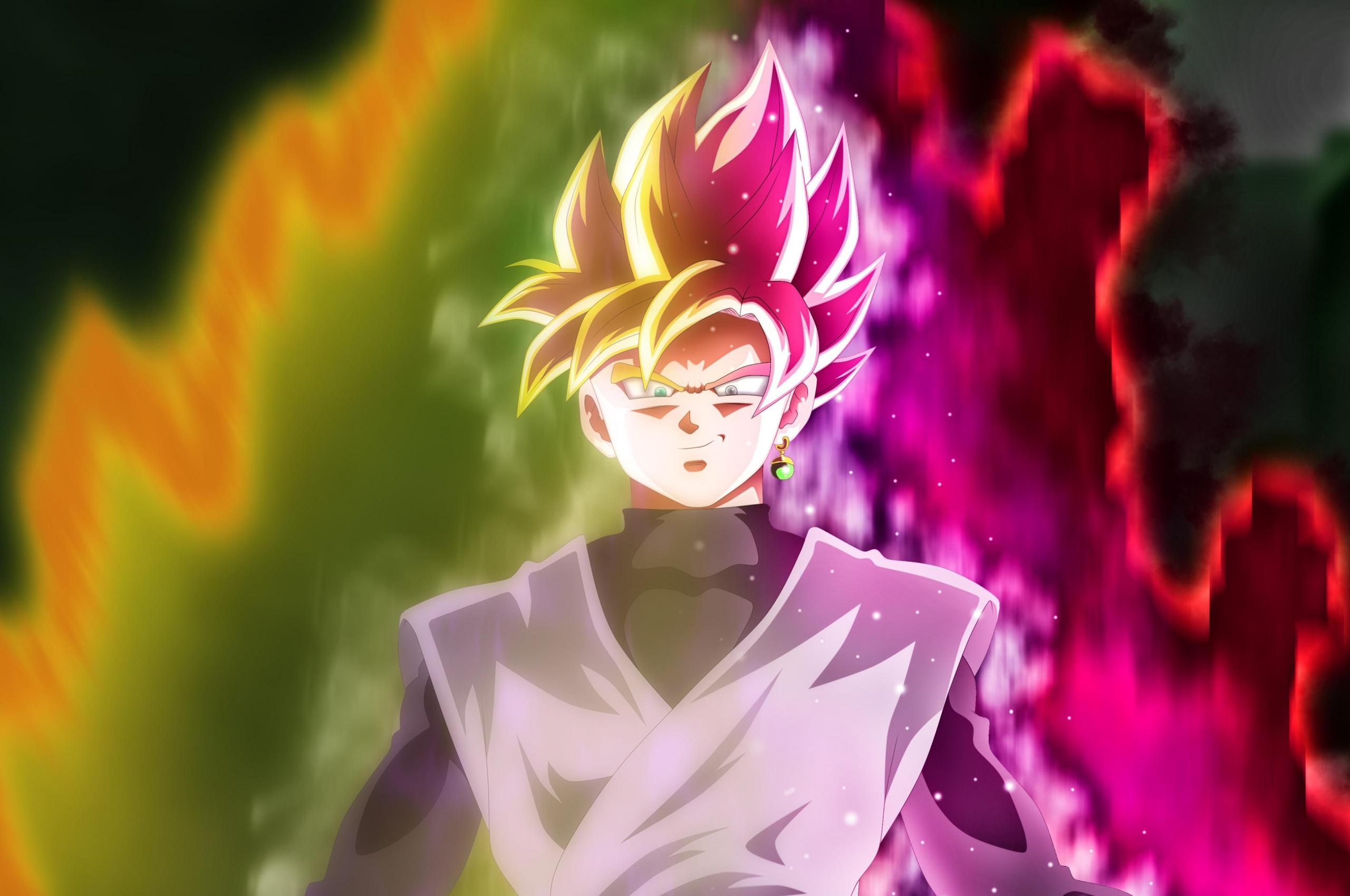 Free Download Goku Black Super Saiyansuper Saiyan Rose By Rmehedi