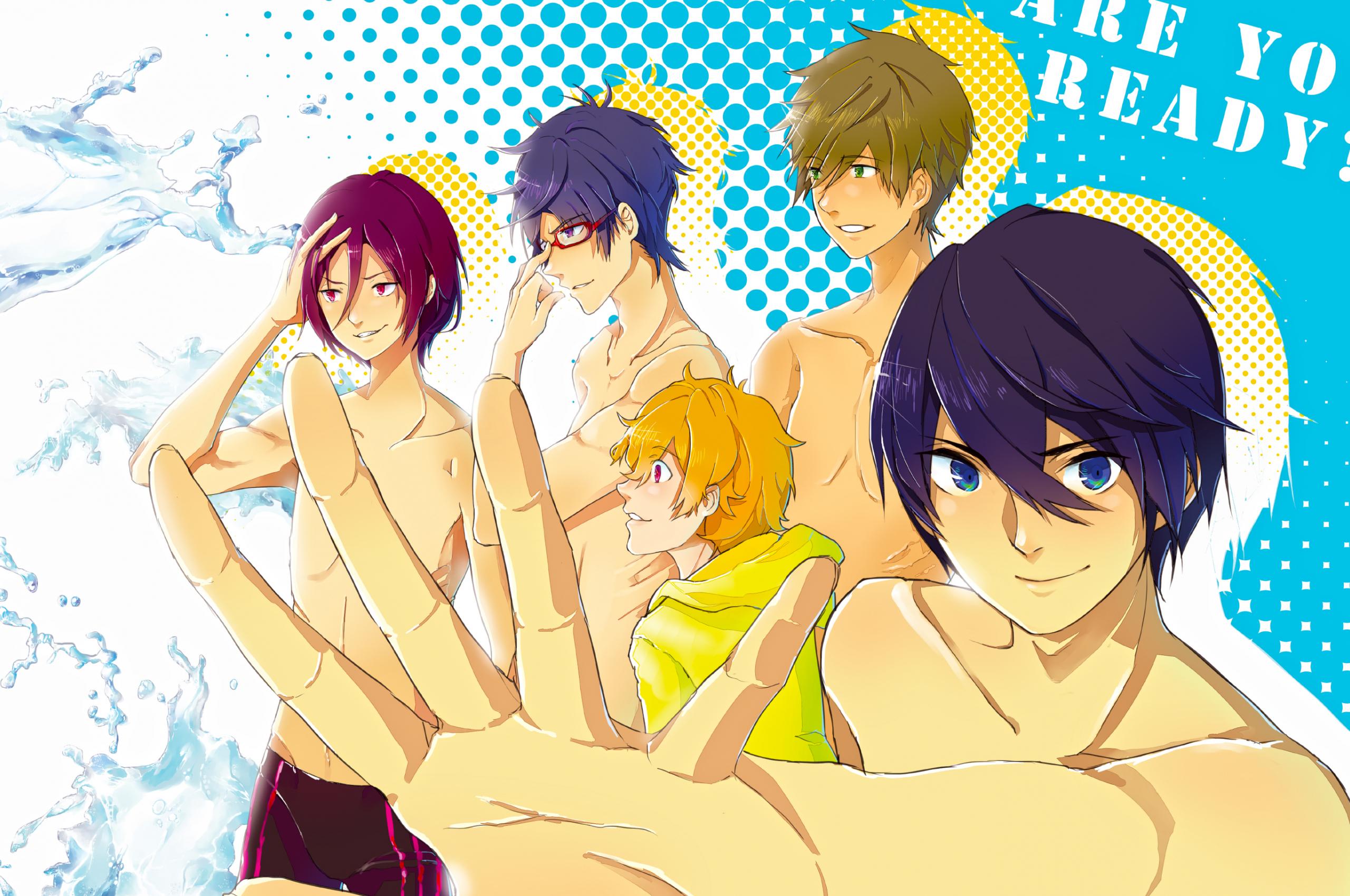 Free Download Iwatobi Swim Club By Kaiyobi 2800x1812 For Your