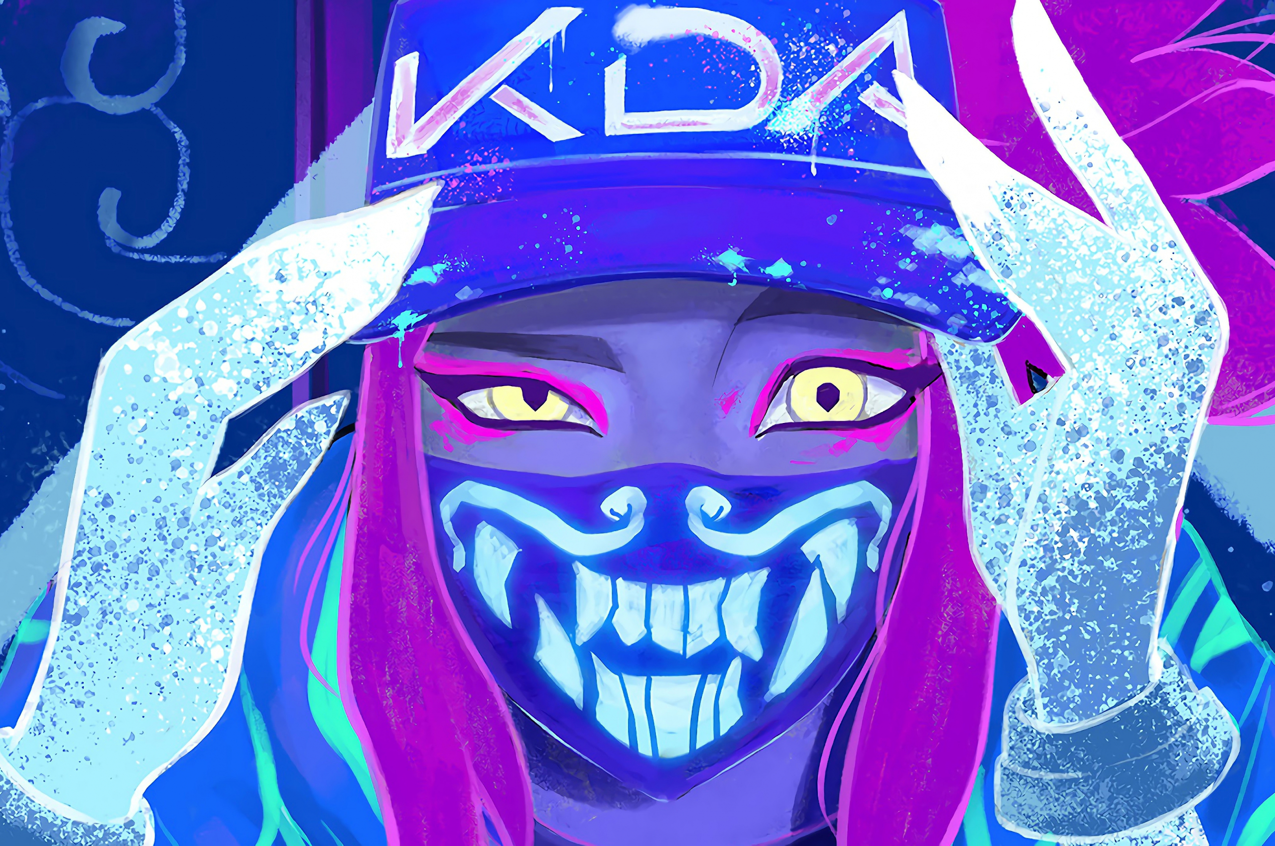 Free Download Akali 4k 8k Hd League Of Legends Wallpaper