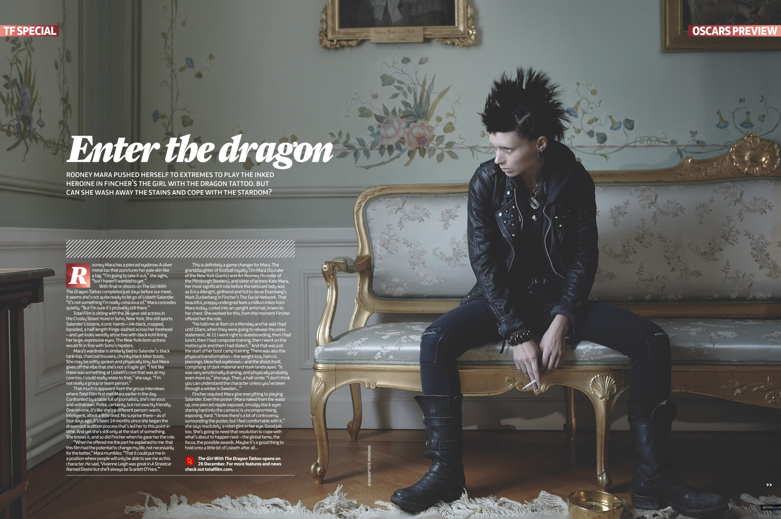 Free Download The Girl With The Dragon Tattoo Wallpaper Background