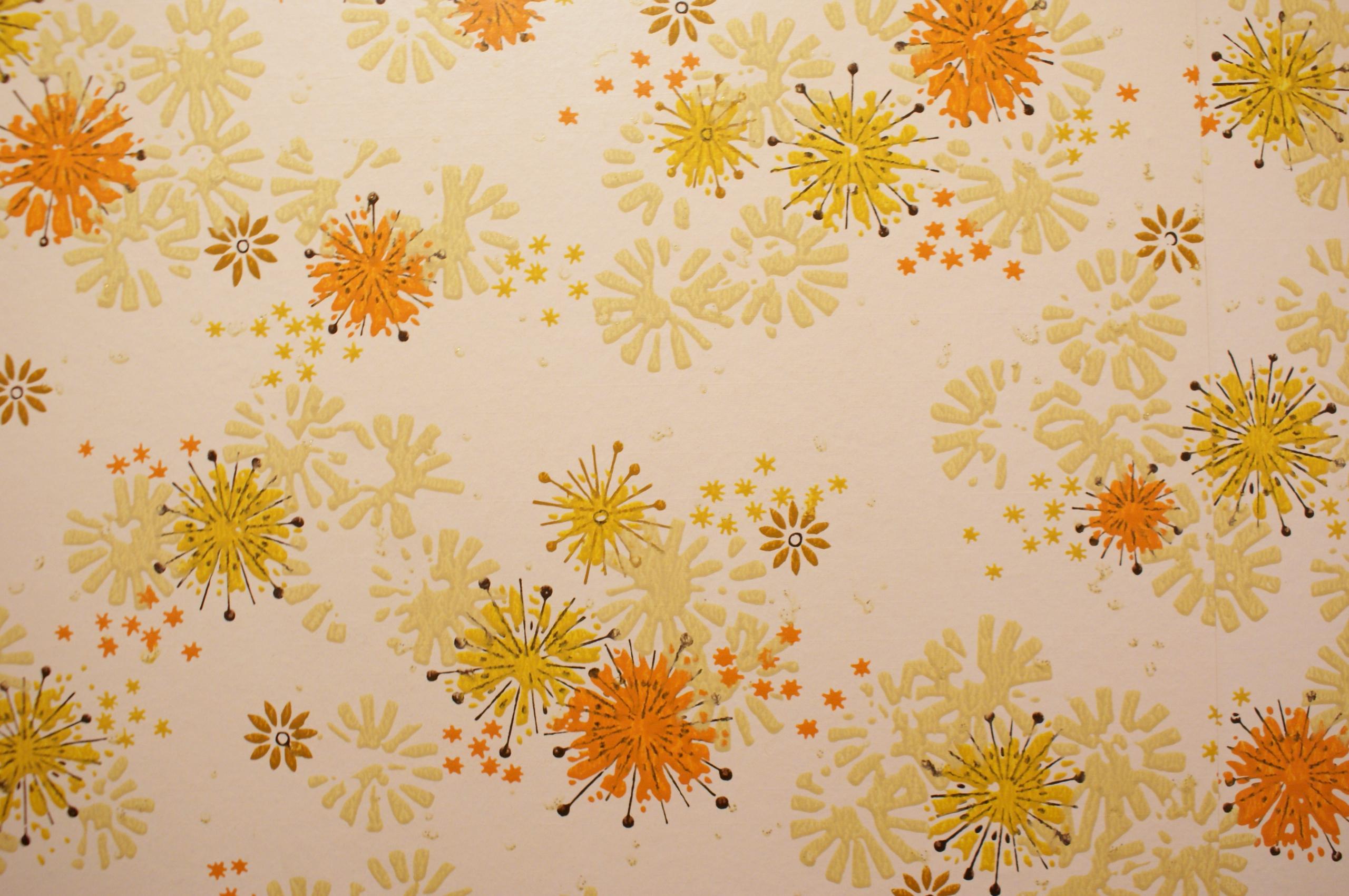 Free Download Wallpaper Vintage Orange Wallpaper Retro 70s 1970s