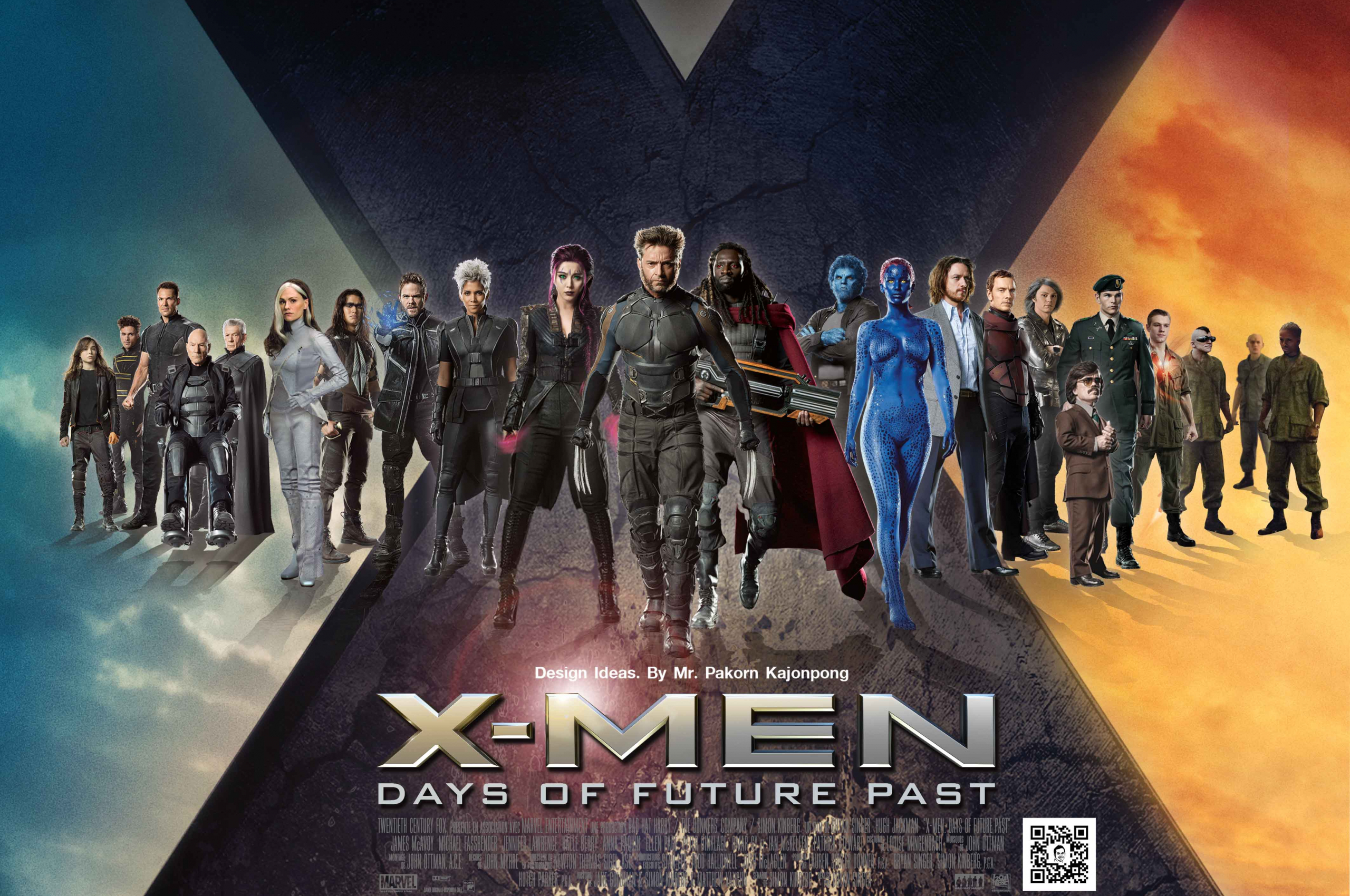 Free Download X Men Days Of Future Past Wallpaper 4252x2917 For