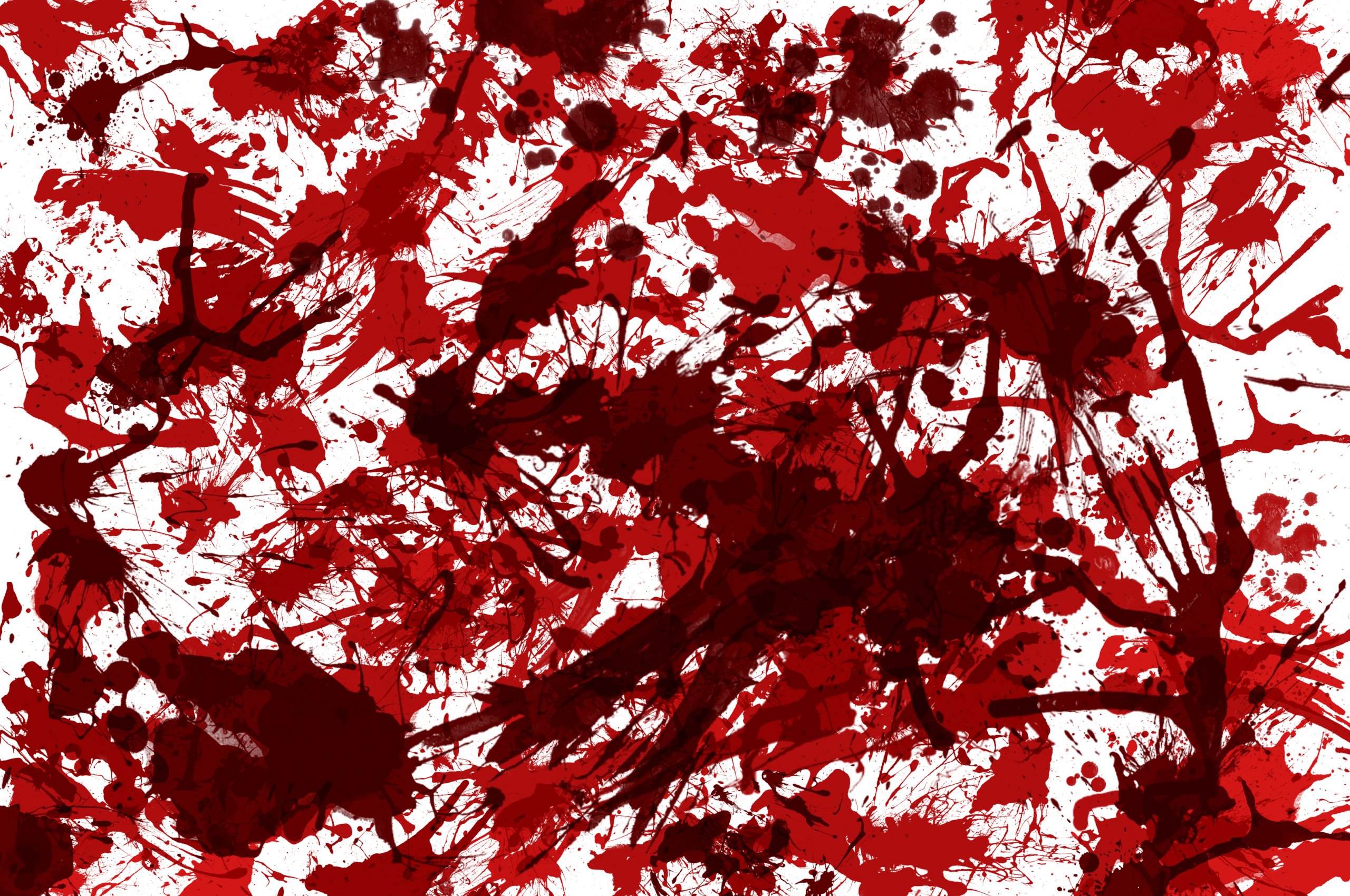 Blood Spatter Texture / A blood splatter i created in adobe photoshop cs3.