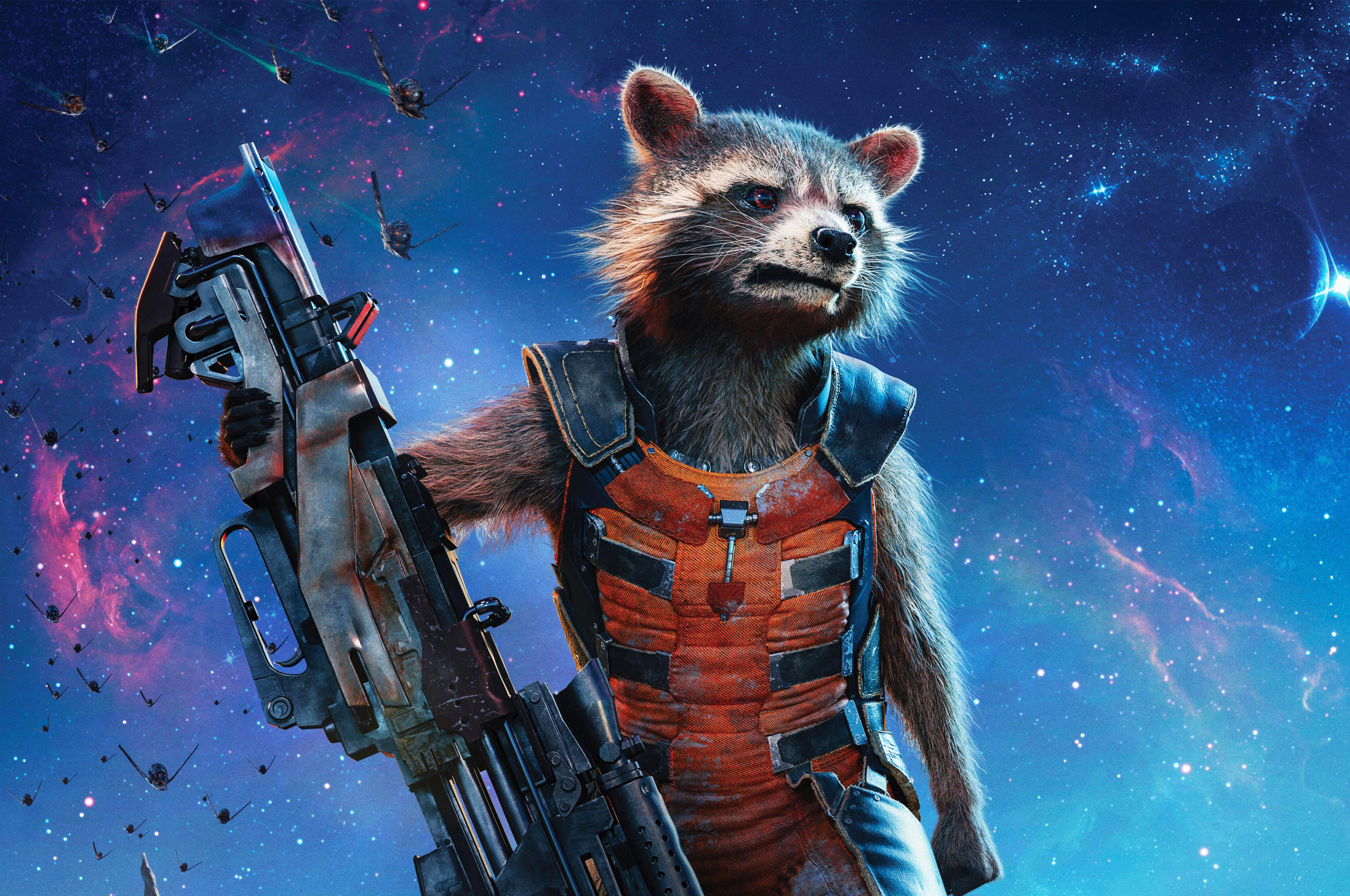 Free Download Rocket Raccoon Guardians Of The Galaxy Vol 2 Hd