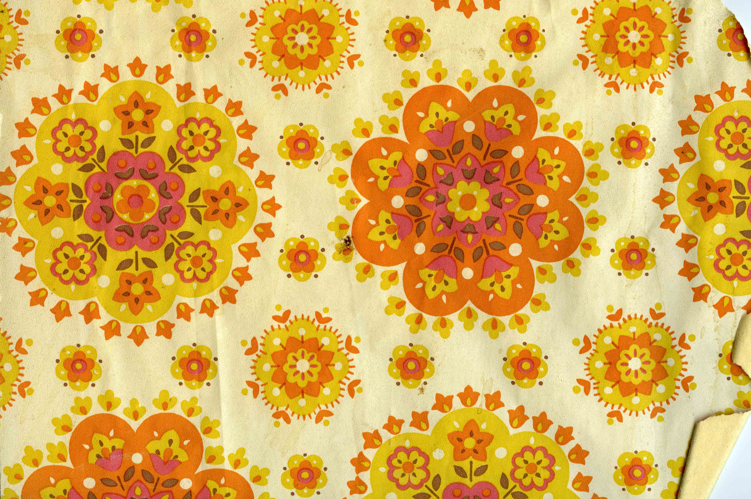 Free Download 1960s 70s House Floral Wallpapers Vintage Wallpapers