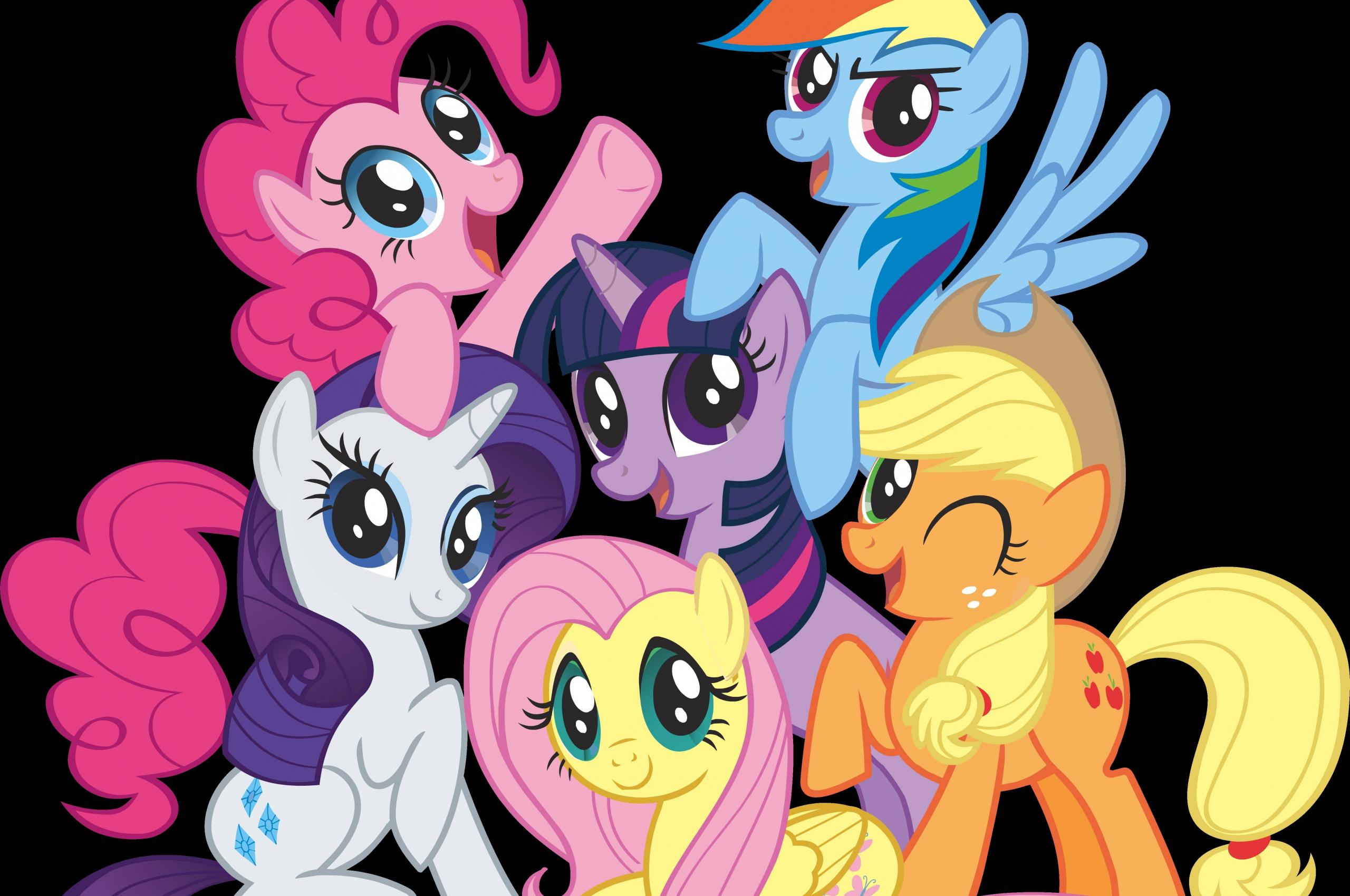 Free Download My Little Pony Android Wallpapers 5697x4507 For