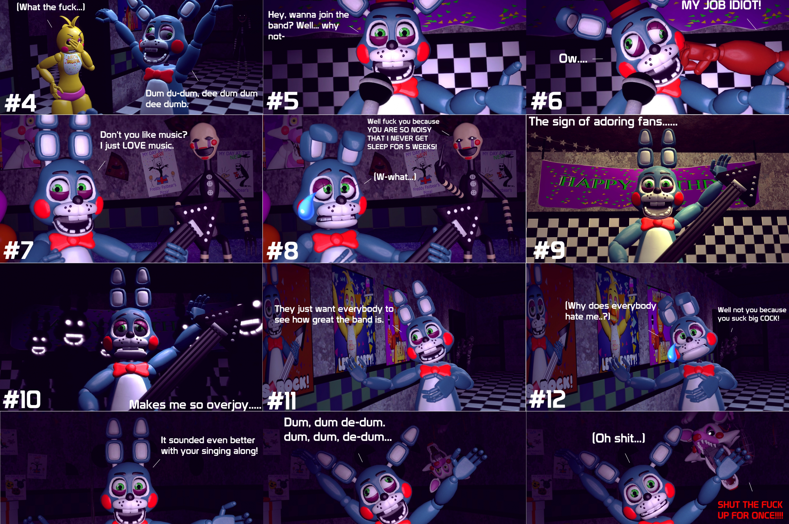 Free download GMod FNaF 2] Toy Bonnie The Annoying Prick by
