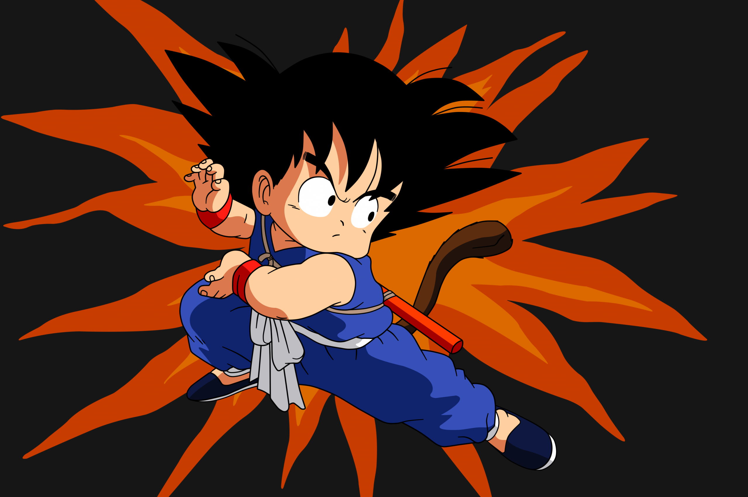 Free Download Dragon Ball Kid Goku 24 By Superjmanplay2 3500x2625