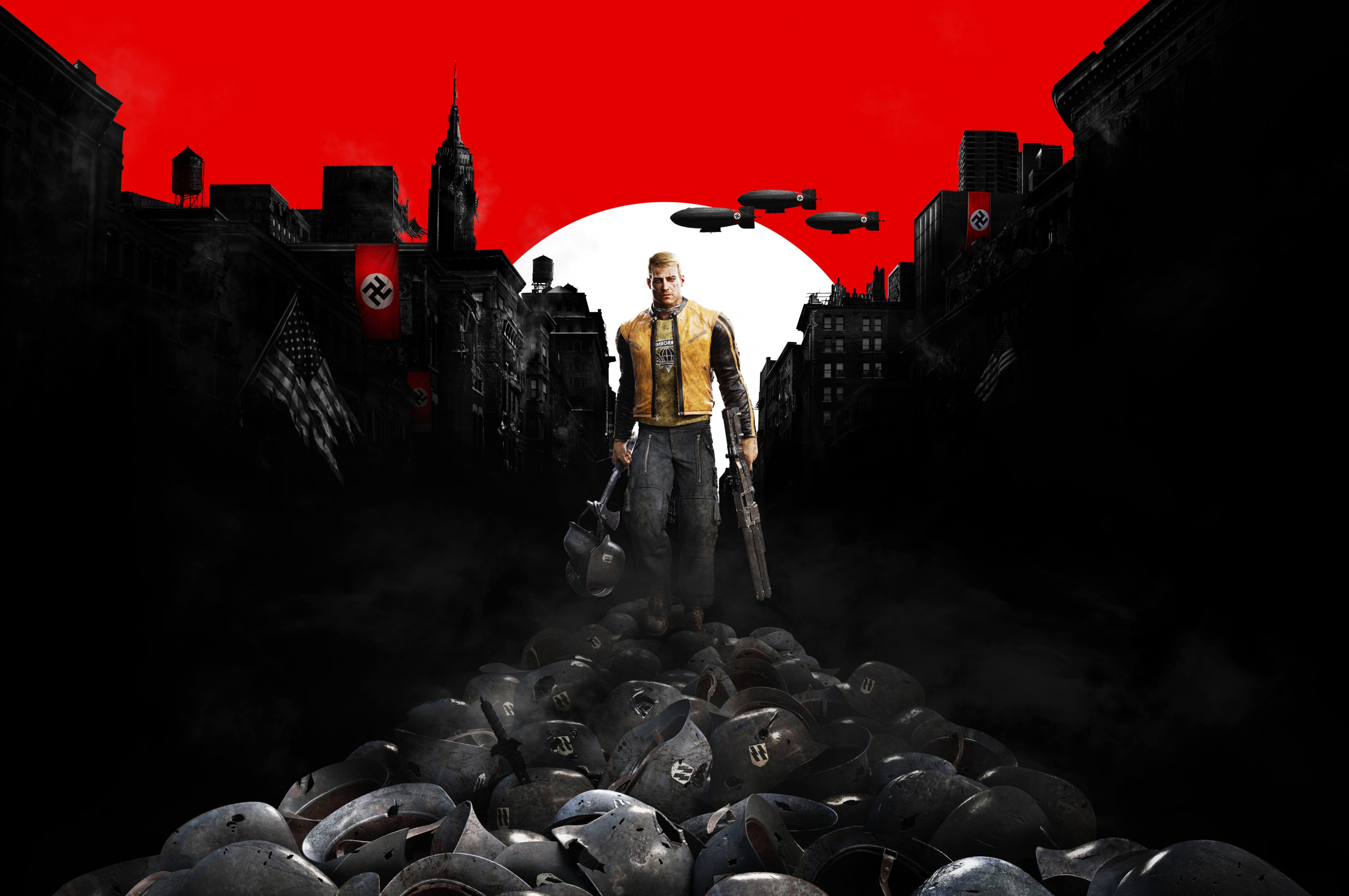 Free Download Wolfenstein Ii The New Colossus Hd Wallpapers And