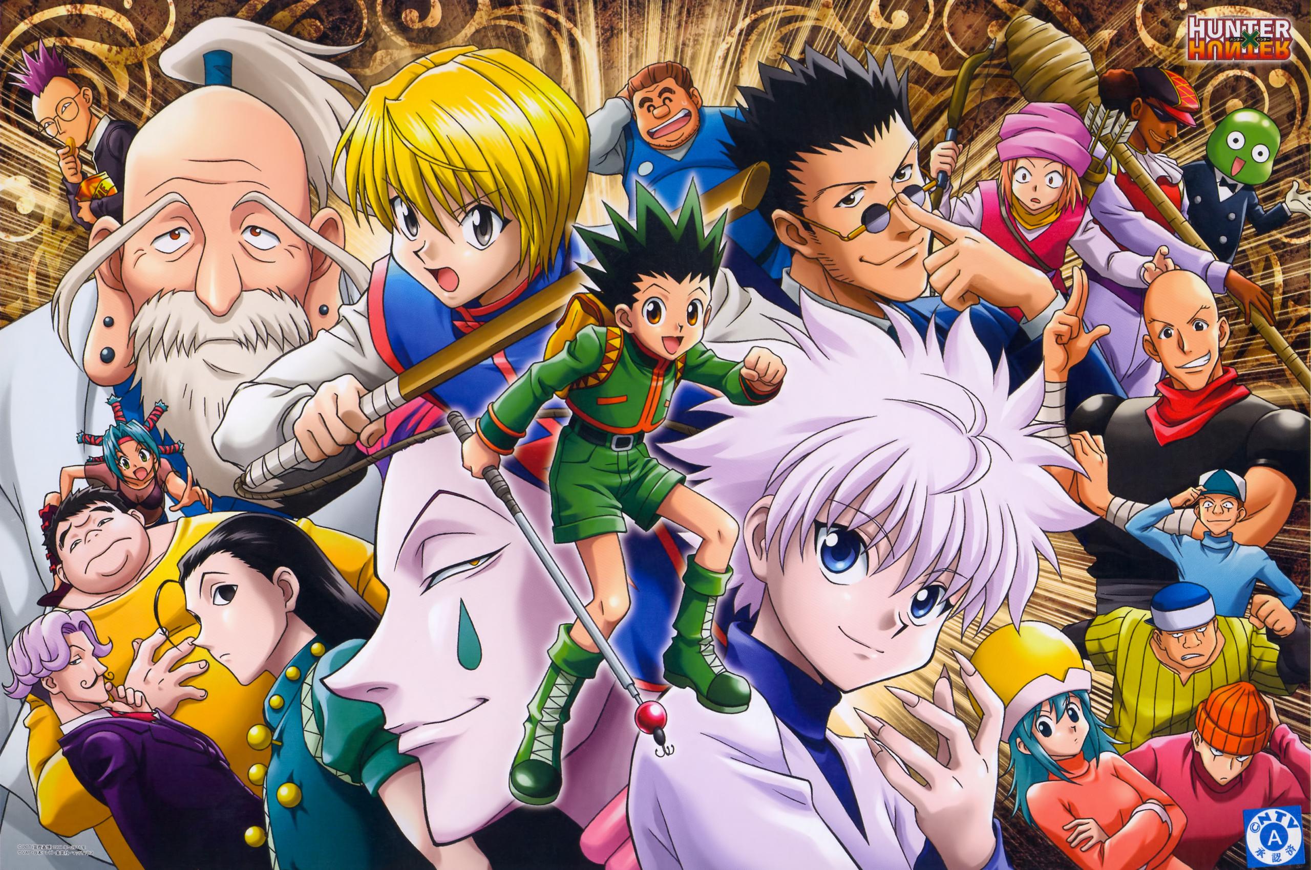 Free Download Hunter X Hunter Anime Hd Wallpaper Animation
